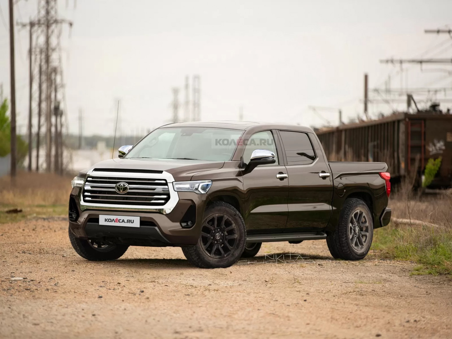Wallpaper Toyota Tacoma 2022 Redesign