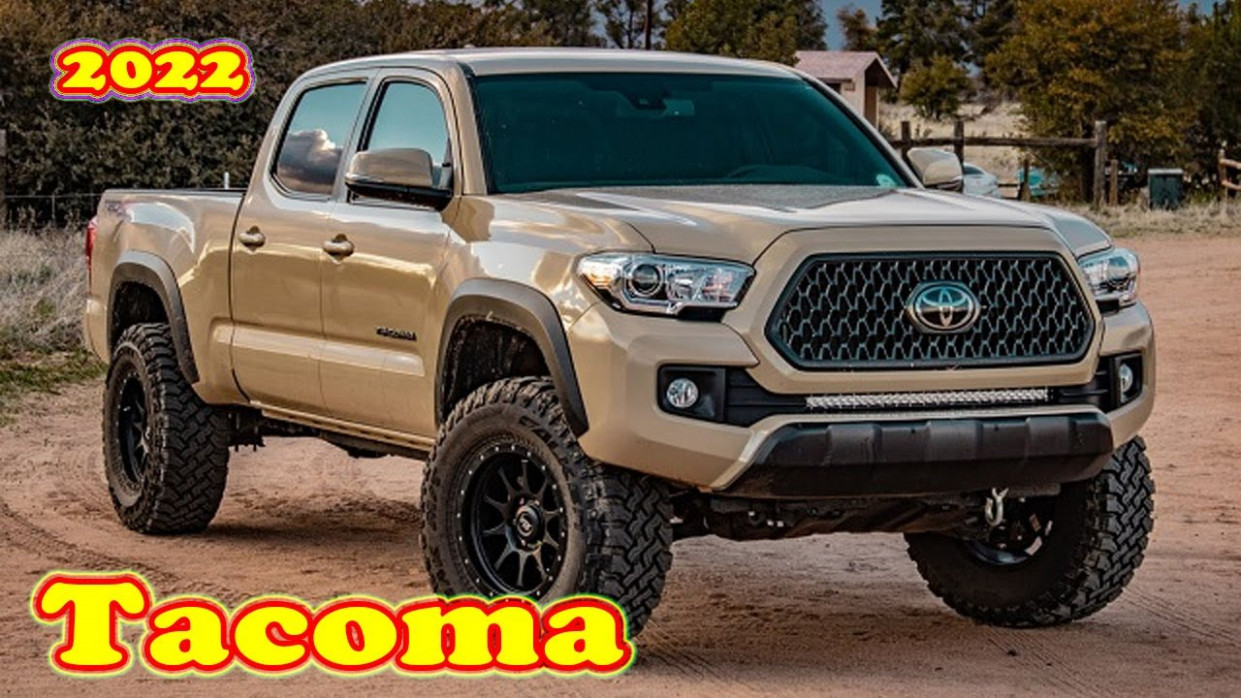 Model Toyota Tacoma 2022 Redesign