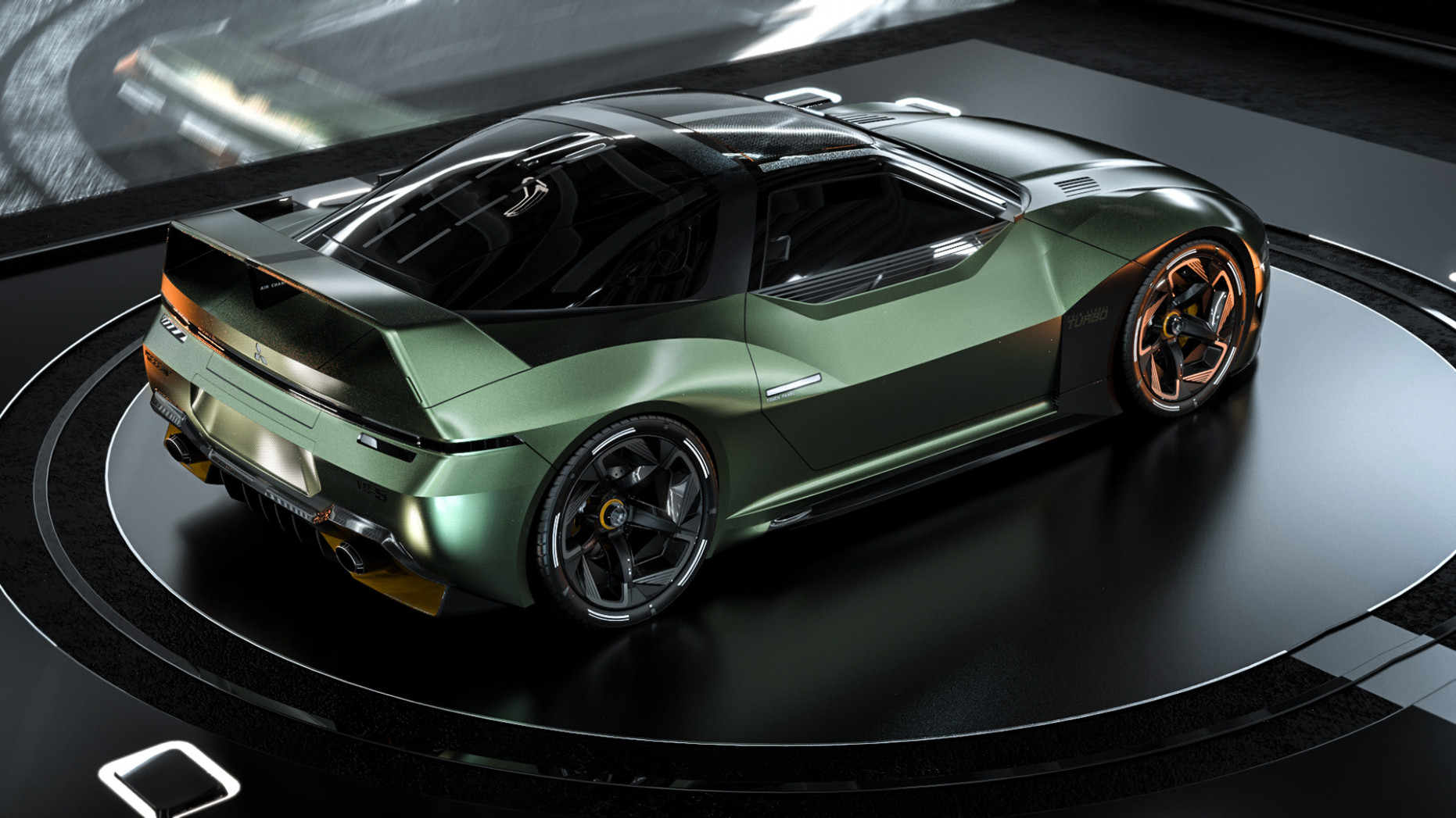 Redesign and Review 2022 Mitsubishi 3000Gt