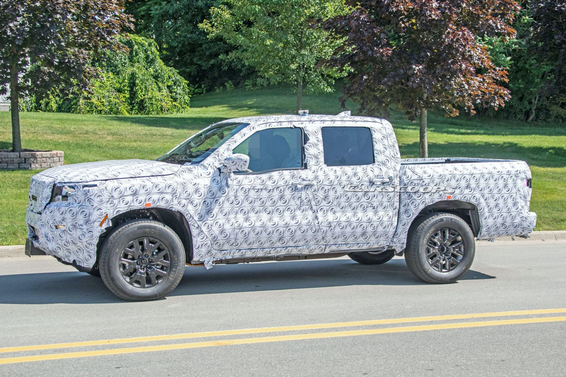 New Model and Performance Pictures Of 2022 Nissan Frontier