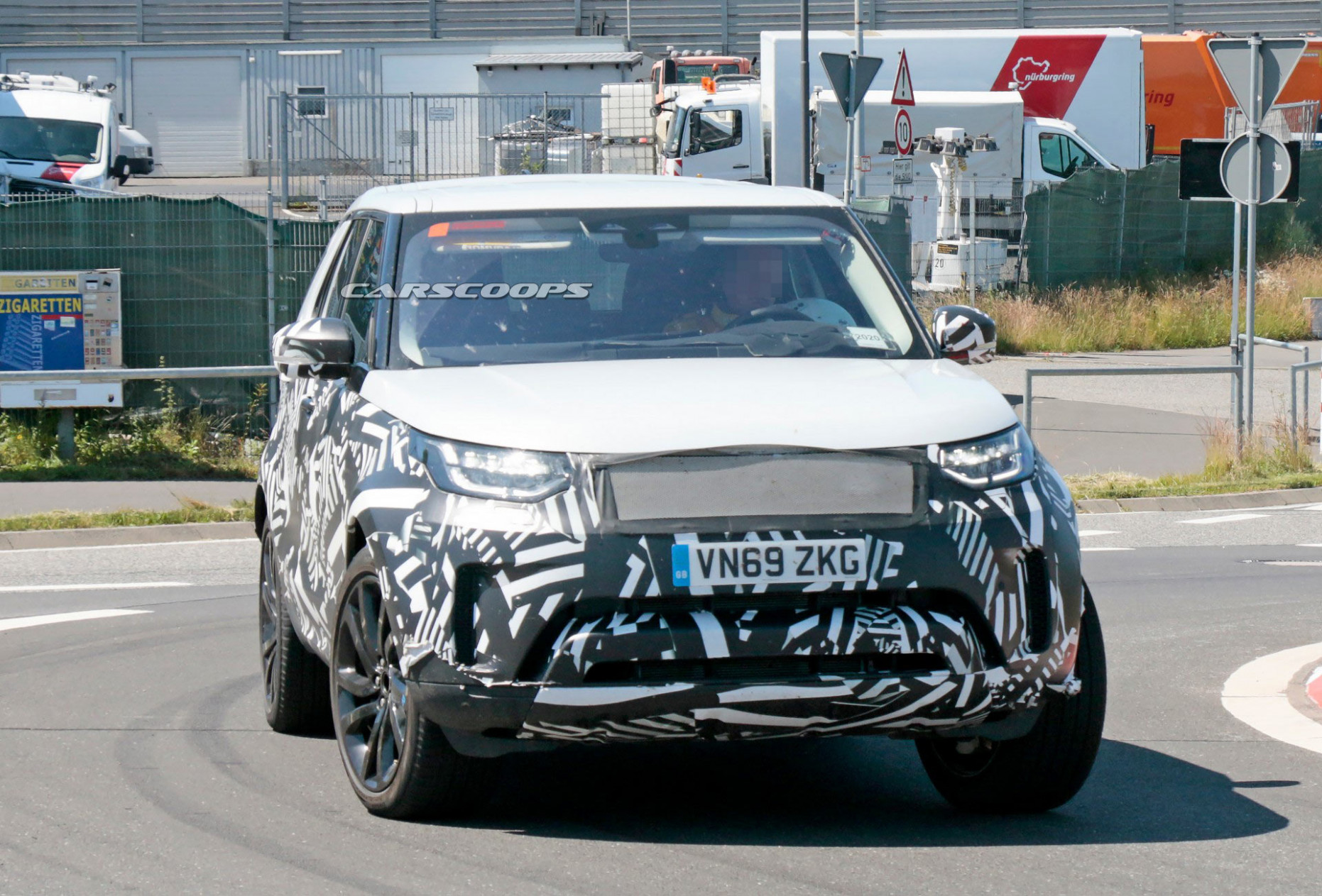 Spy Shoot 2022 Land Rover Discovery