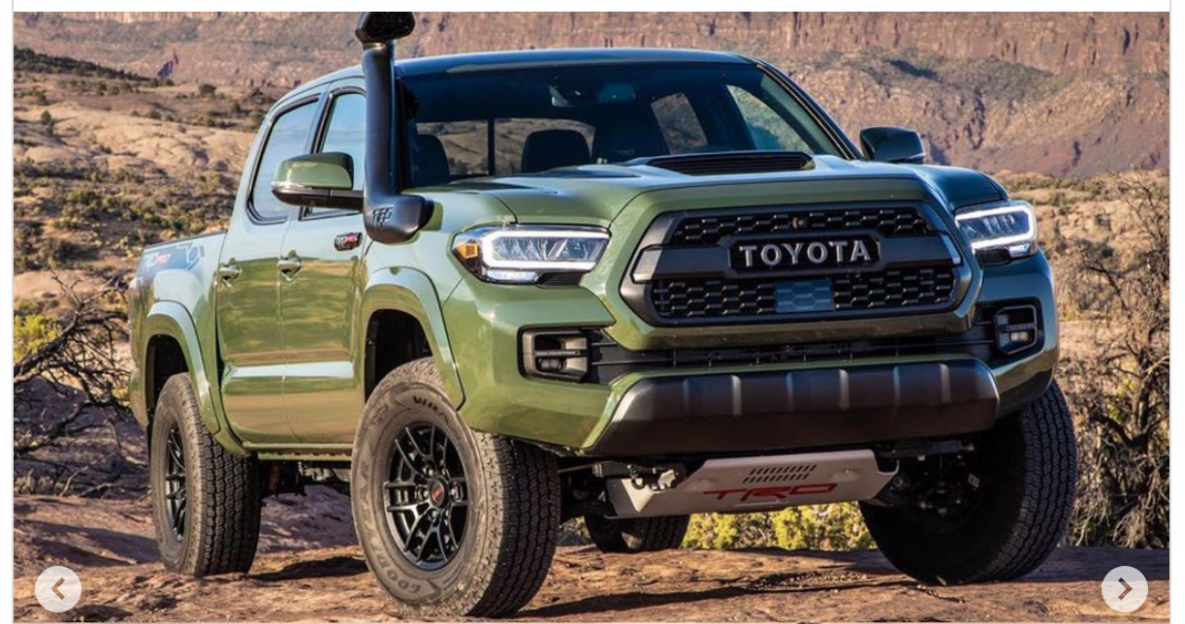 Overview 2022 Toyota Tacoma