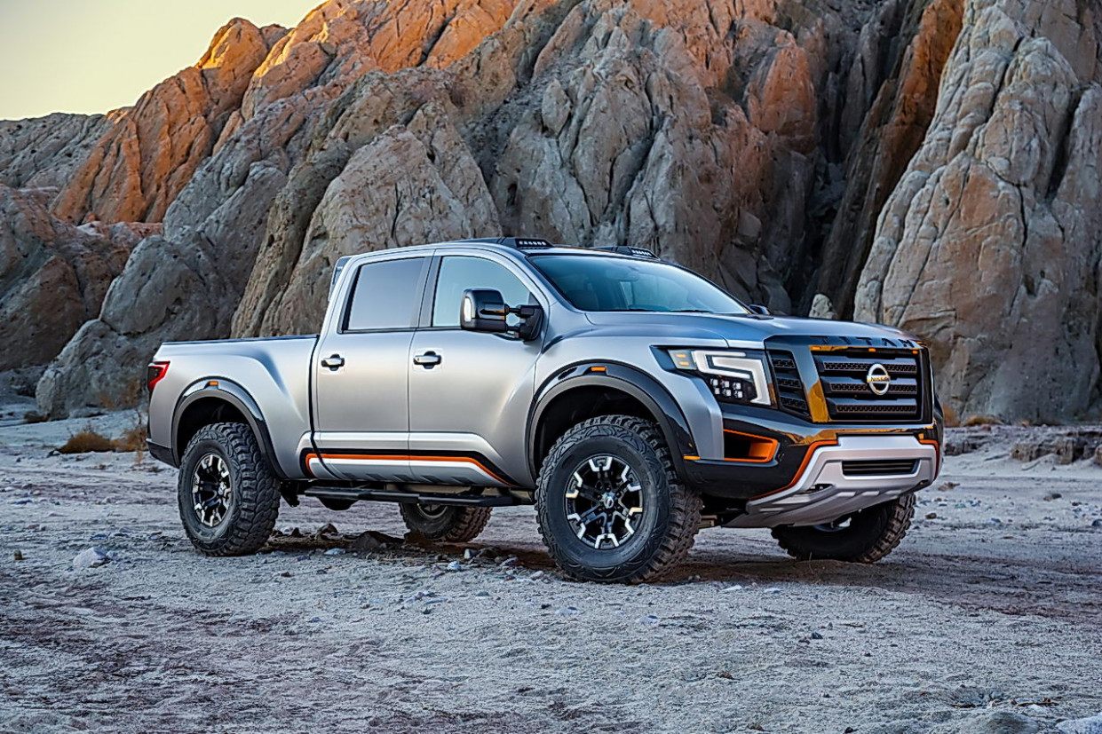 Redesign and Concept 2022 Nissan Titan