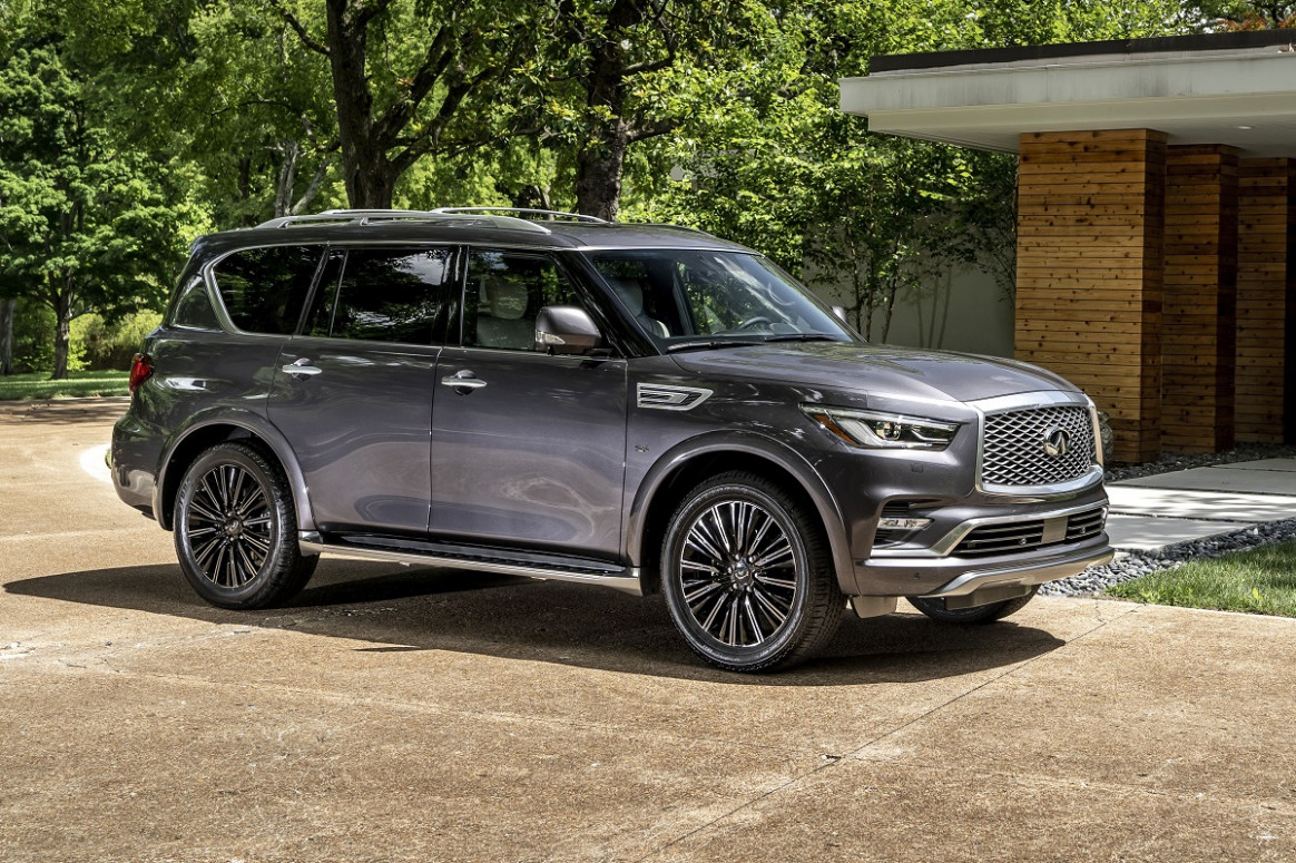 Redesign and Review 2022 Infiniti Qx80 Suv