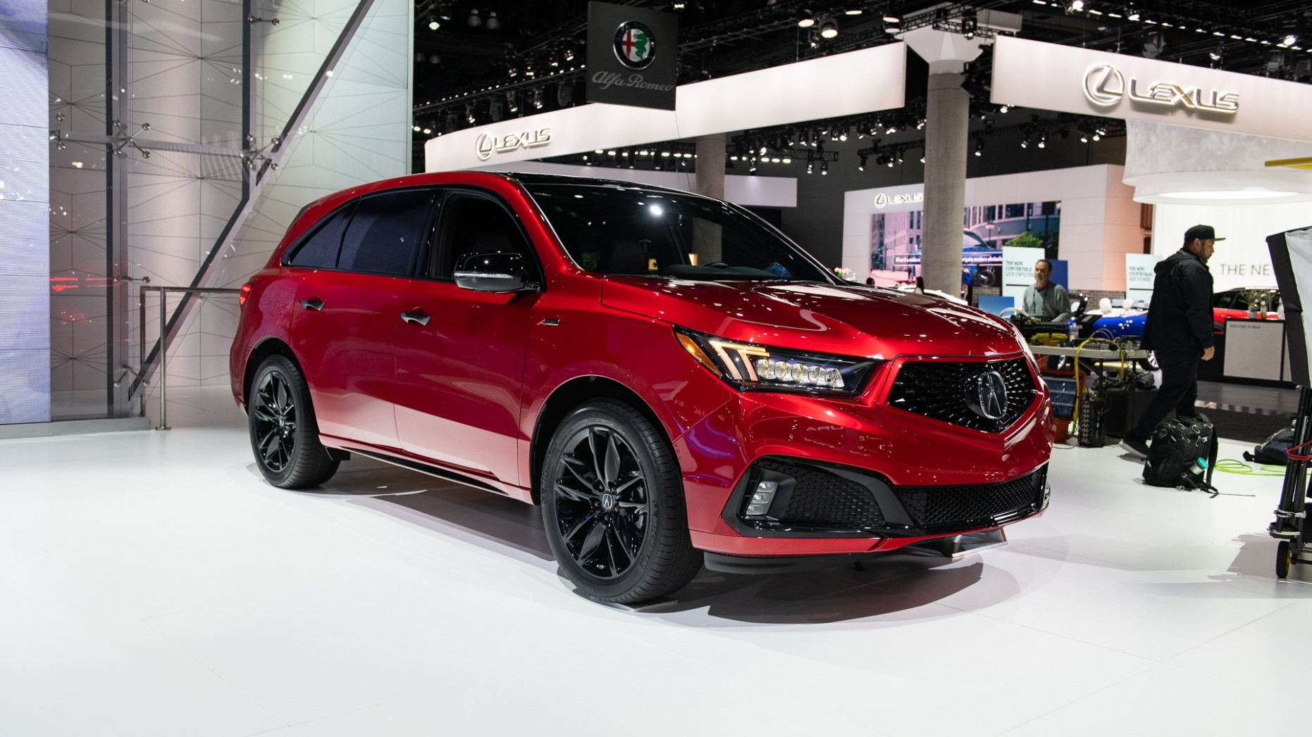 Pictures 2022 Acura Mdx Ny Auto Show
