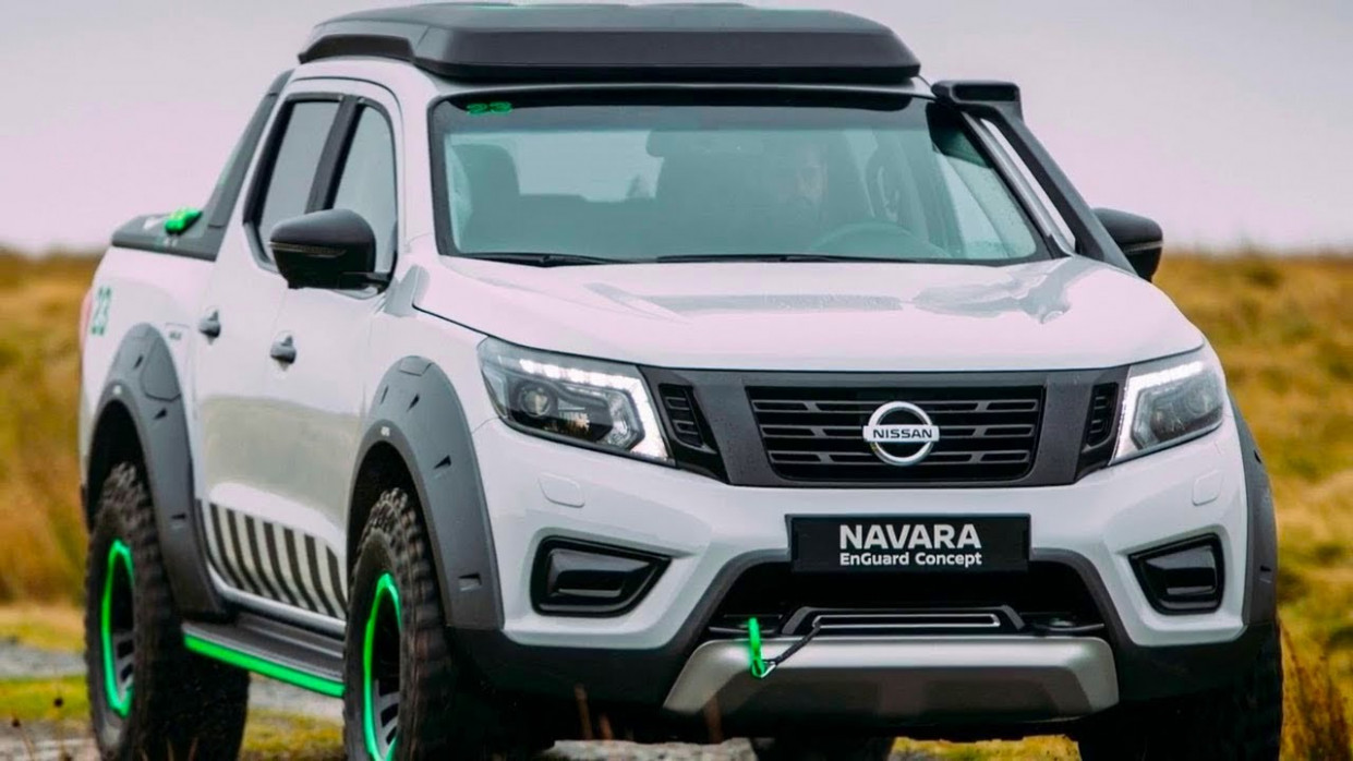 New Concept Pictures Of 2022 Nissan Frontier