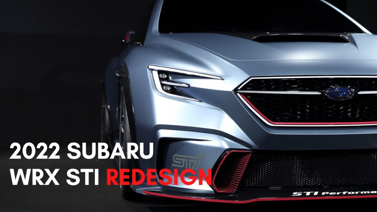 New Model and Performance Subaru Wrx 2022 Redesign