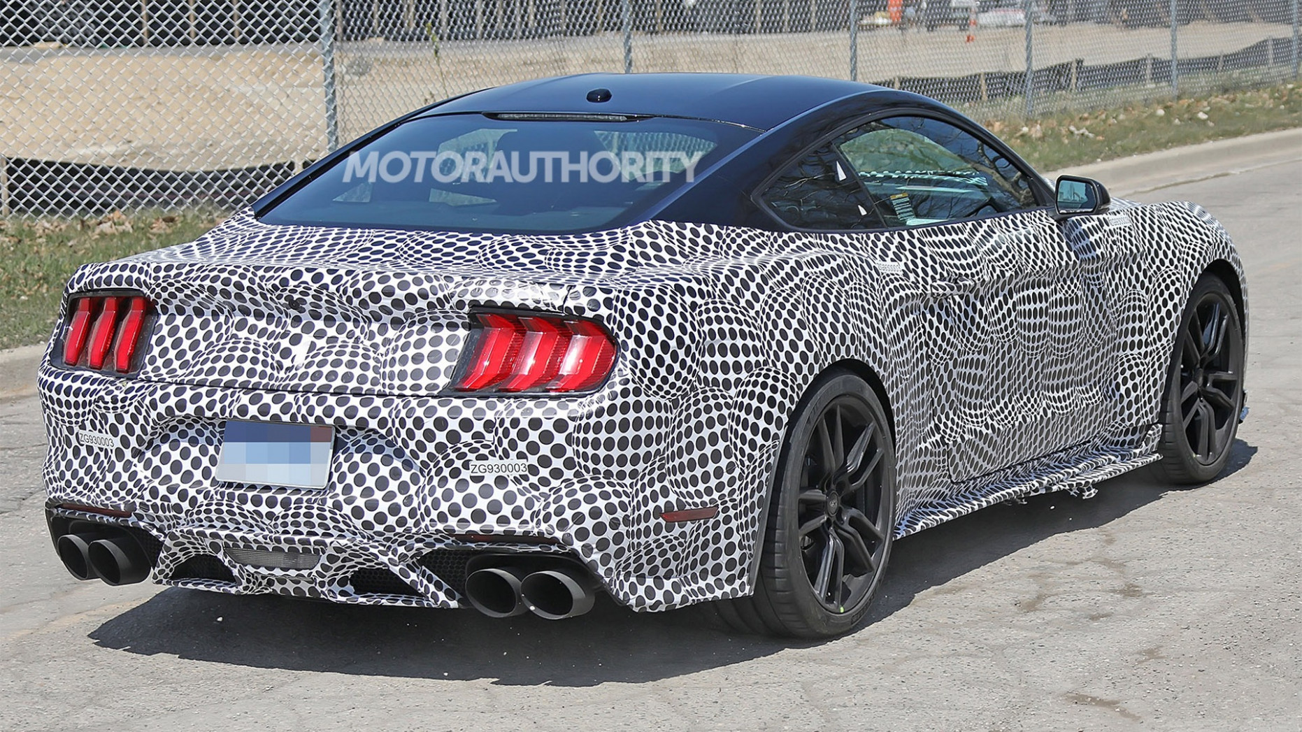 Release Date and Concept Spy Shots Ford Mustang Svt Gt 500