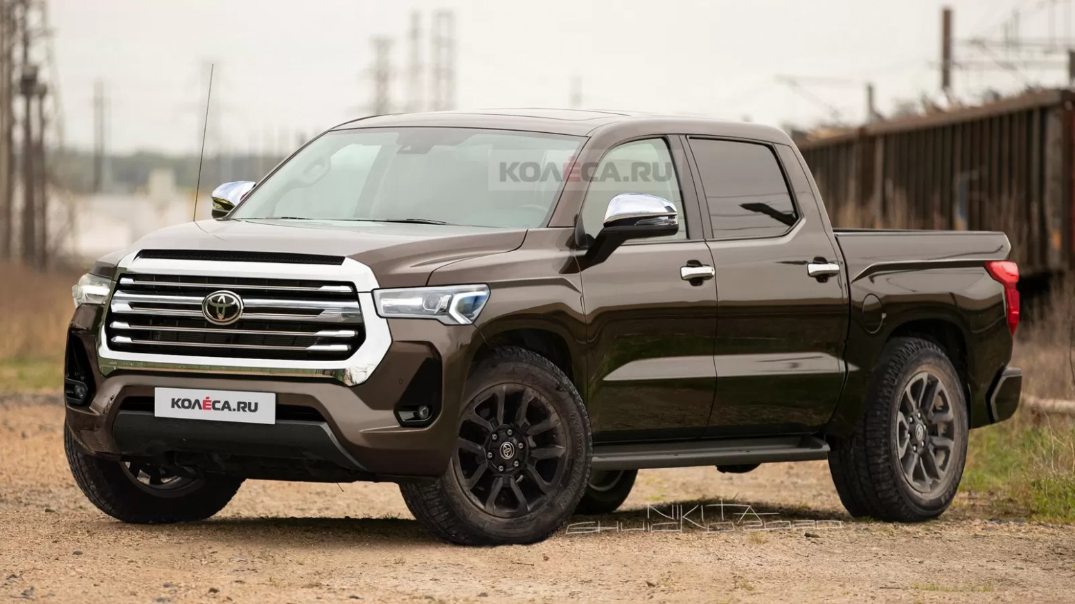 New Concept Toyota Tacoma 2022 Redesign