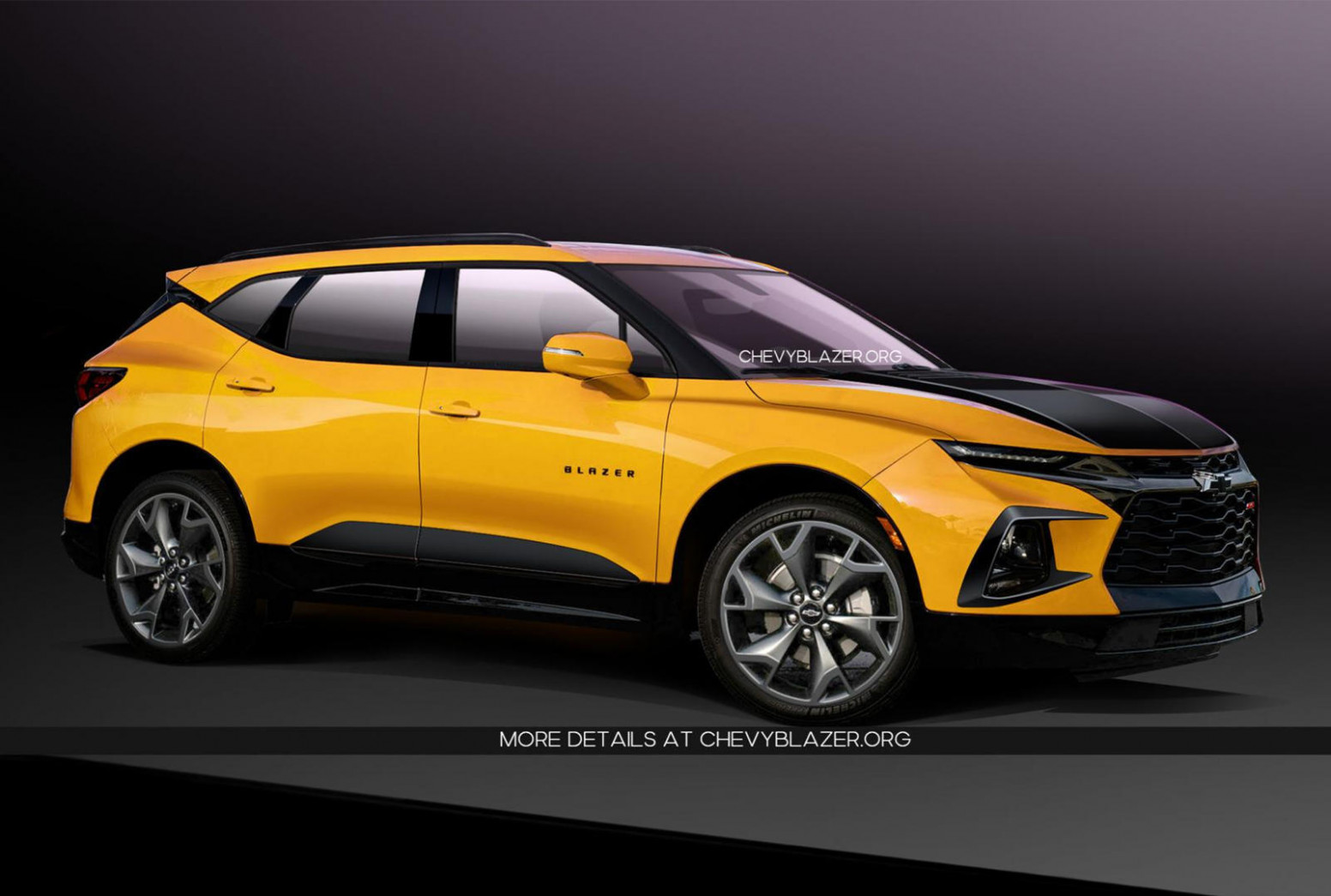 Wallpaper Chevrolet Blazer 2022