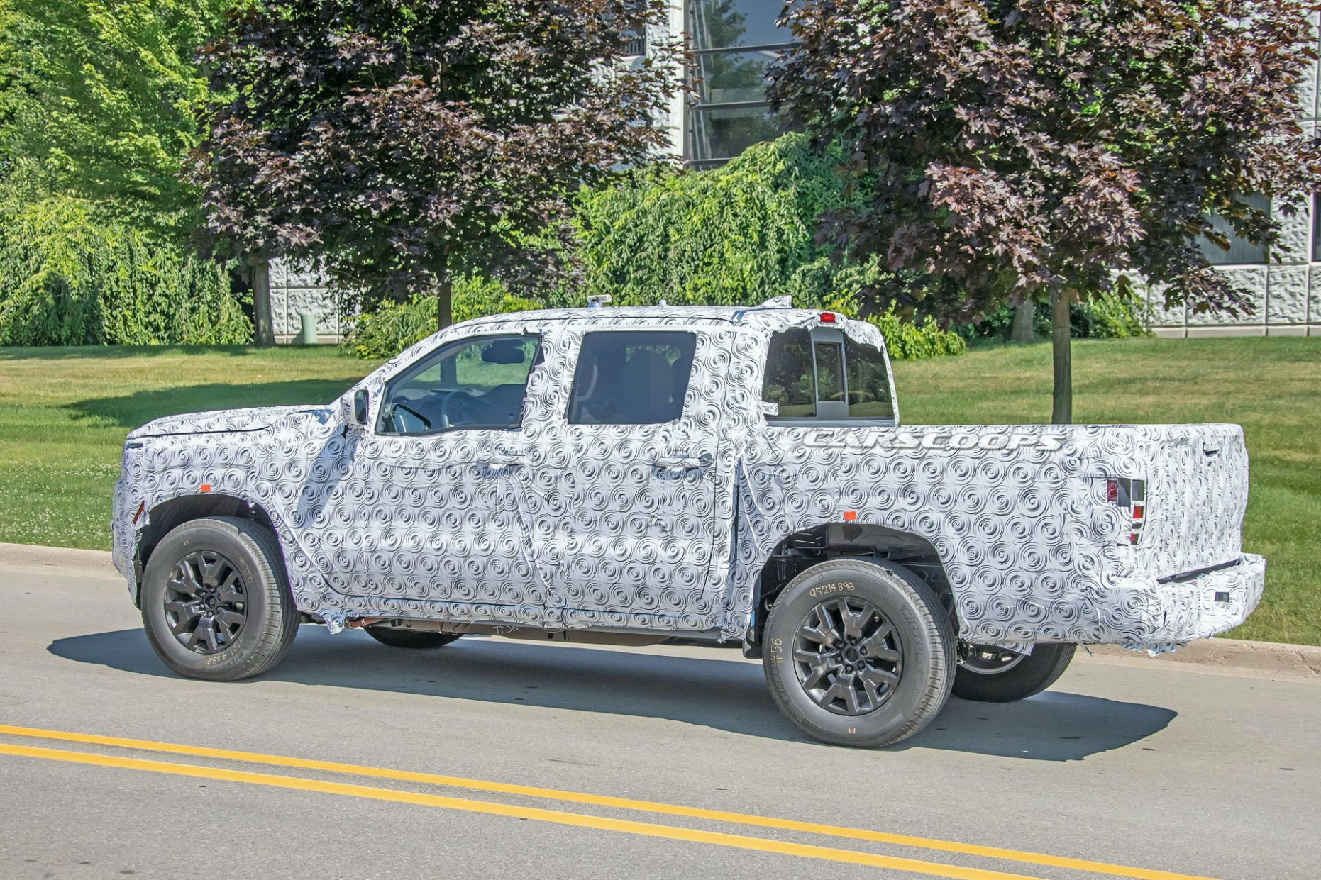 Speed Test Pictures Of 2022 Nissan Frontier