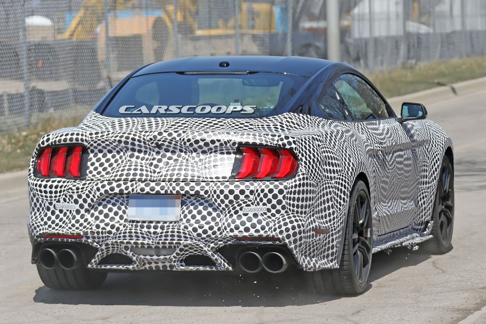Overview Spy Shots Ford Mustang Svt Gt 500