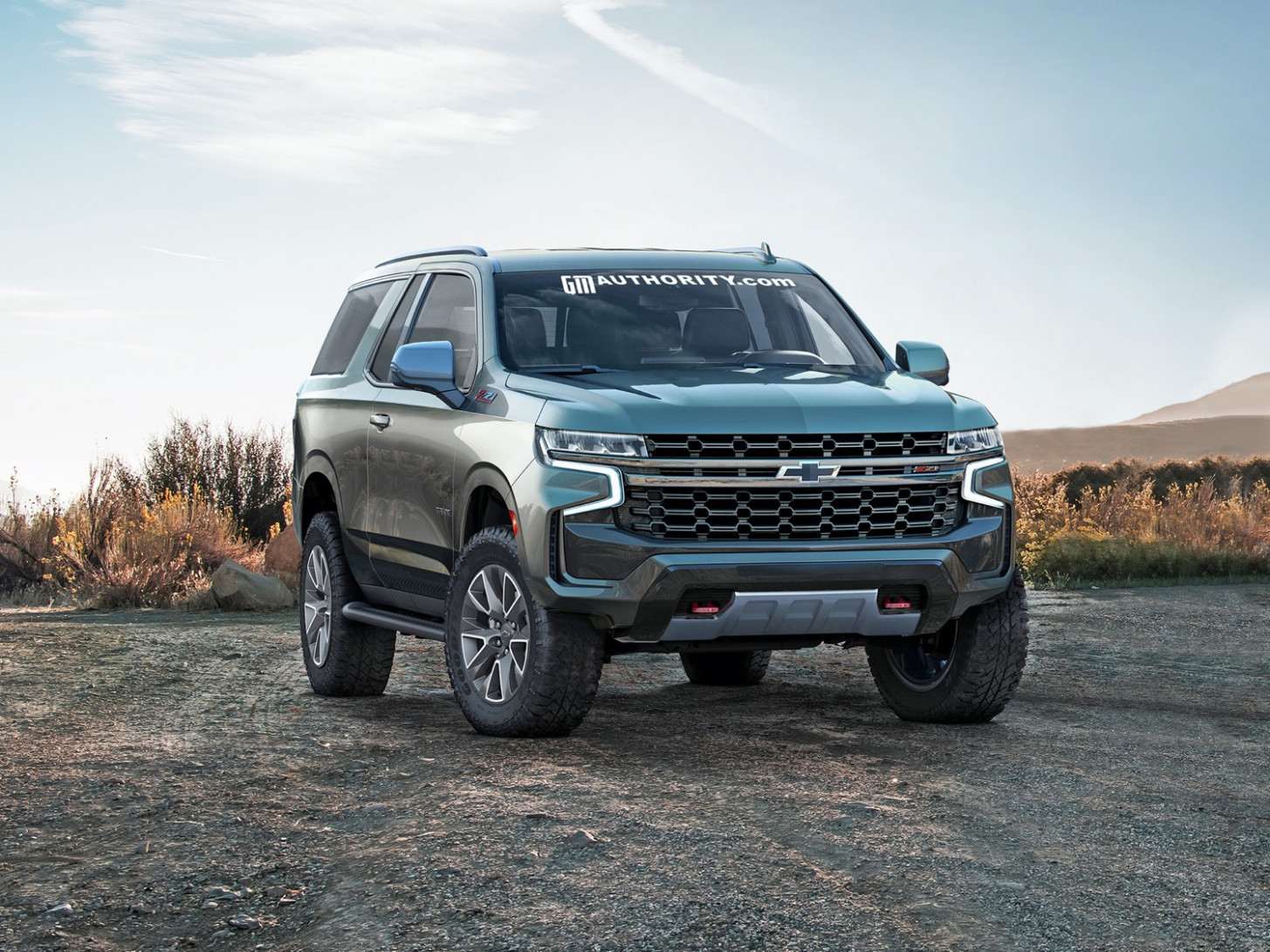 Exterior 2022 Chevy Tahoe Z71 Ss