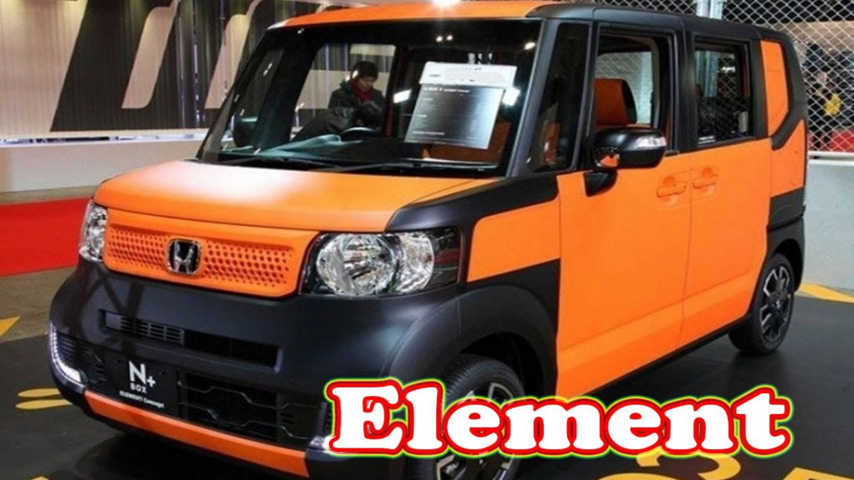 Spy Shoot 2022 Honda Element