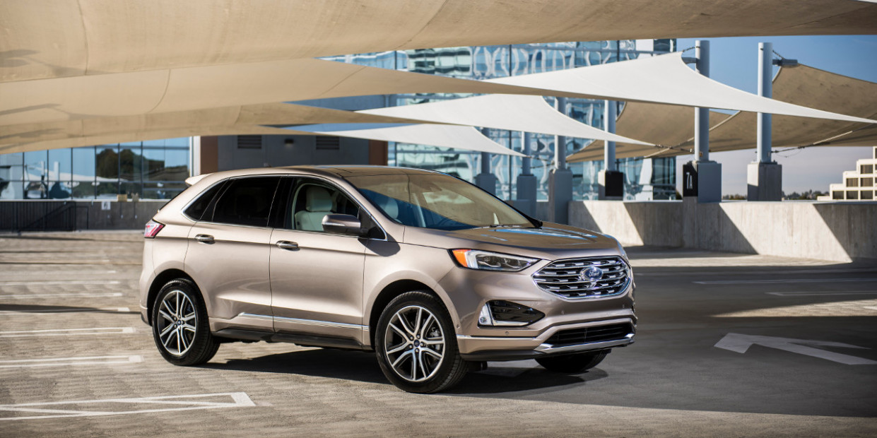 Redesign and Review 2022 Ford Edge