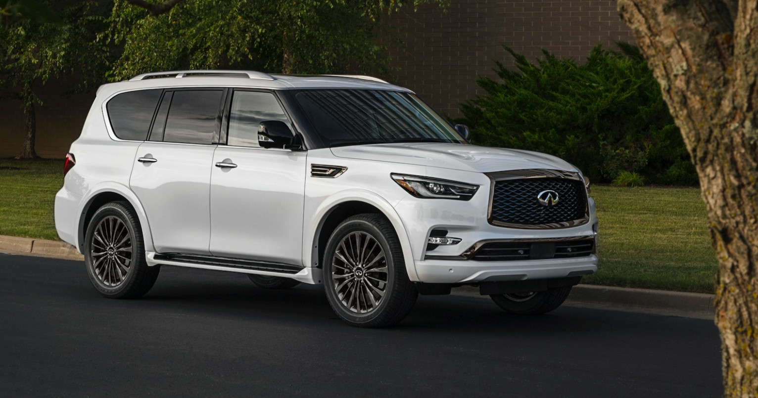 Redesign and Review 2022 Infiniti QX80