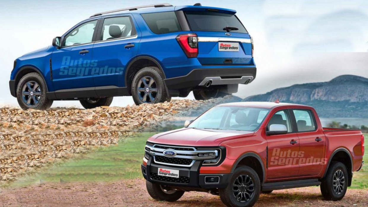 Research New Ford Everest 2022