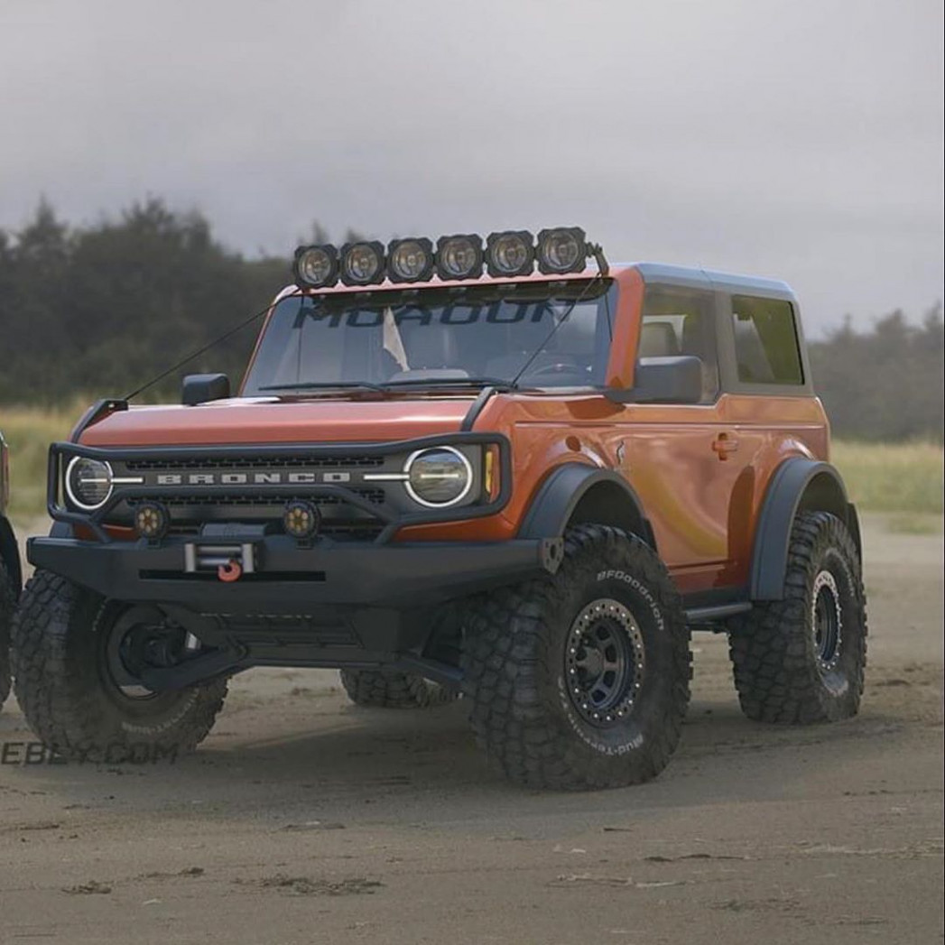 New Model and Performance How Much Is The 2022 Ford Bronco