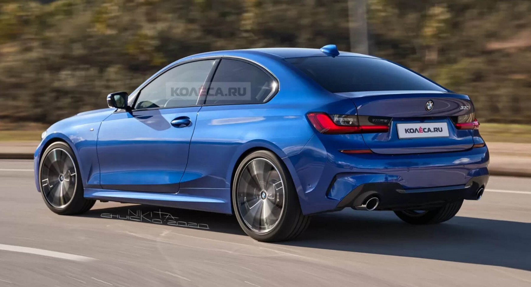 First Drive BMW New 3 Series 2022