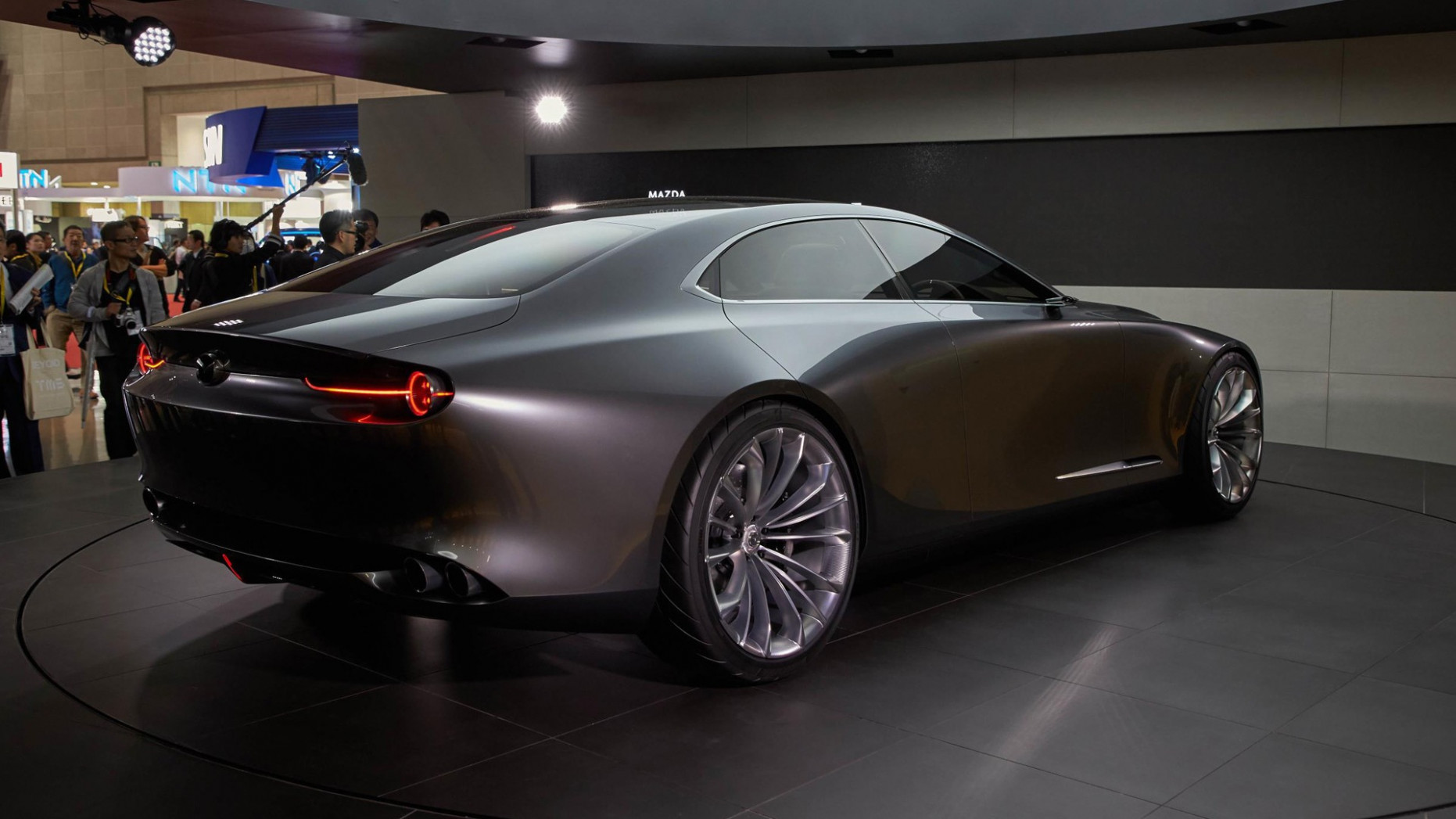 Exterior and Interior Mazda Vision Coupe 2022