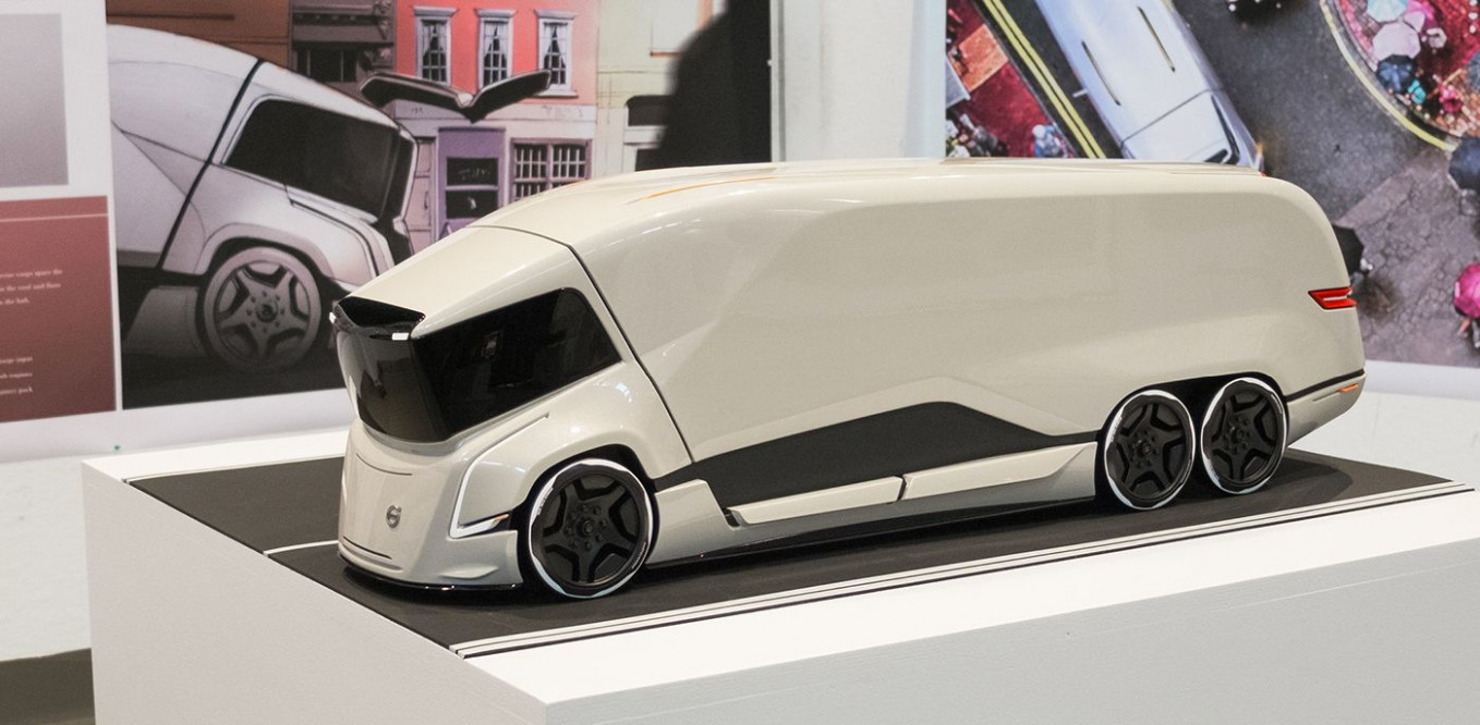 Redesign and Concept Volvo Truck Concept 2022