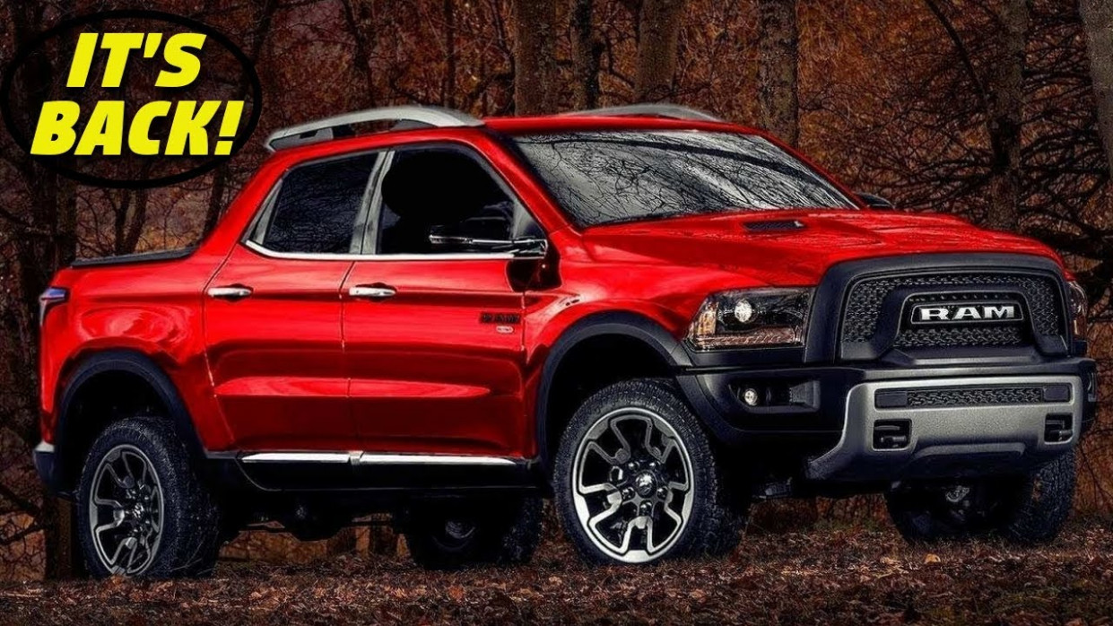 Release Date and Concept Dodge Midsize Truck 2022