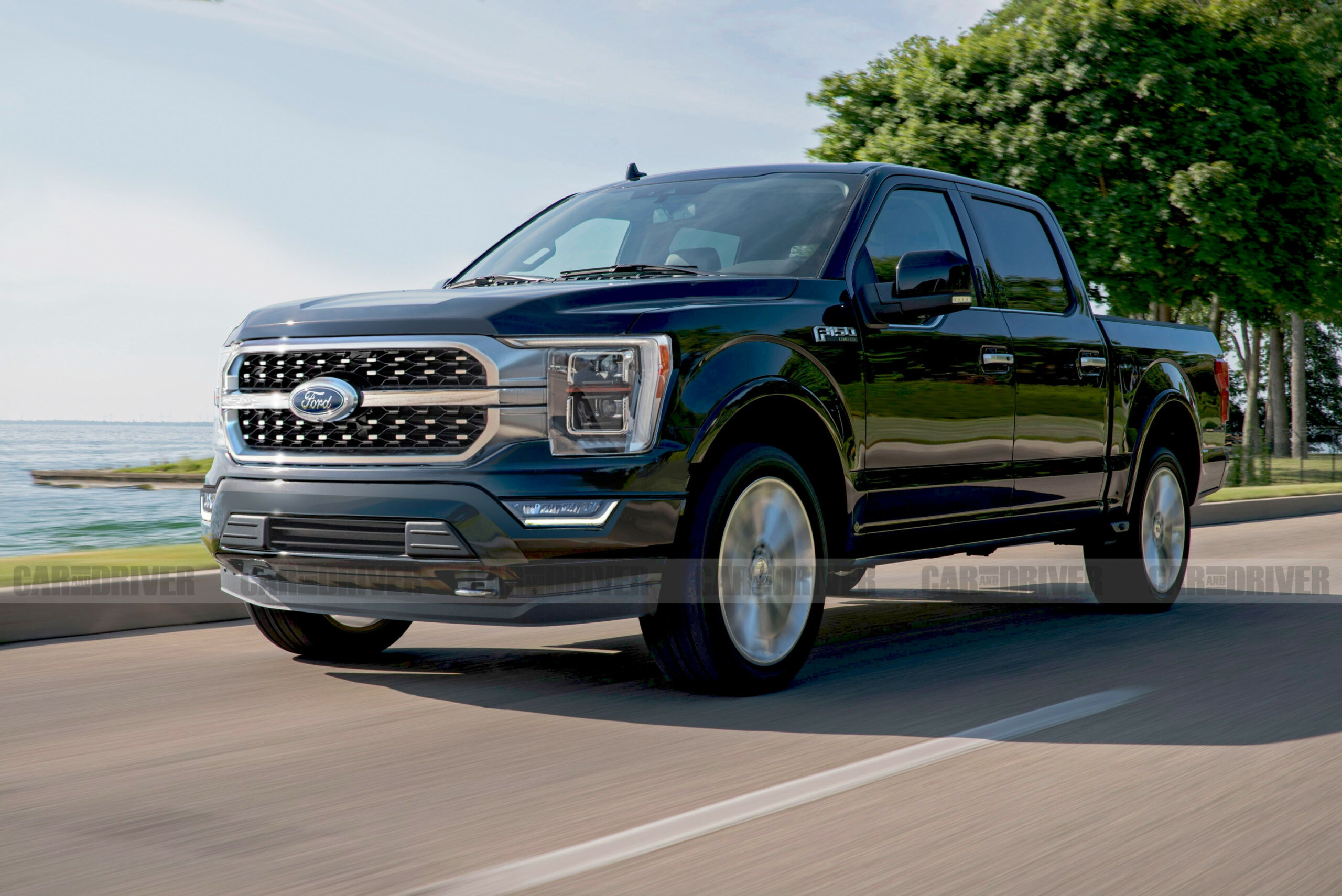 Exterior Ford Pickup 2022