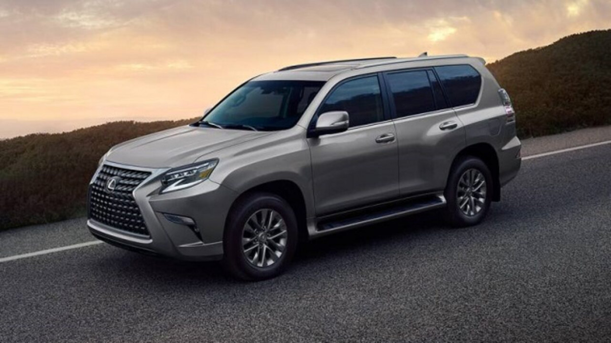 Spy Shoot Lexus Gx Body Style Change 2022
