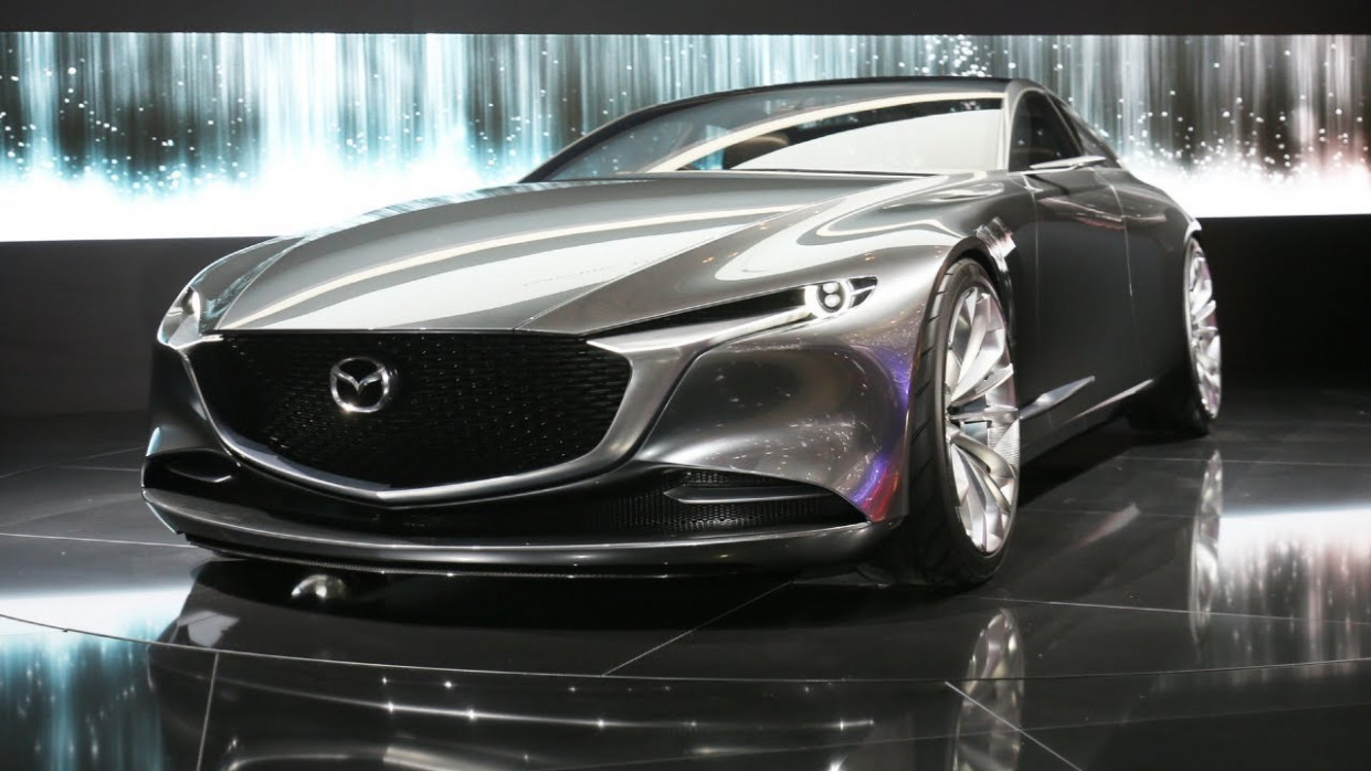 Spy Shoot Mazda Vision Coupe 2022