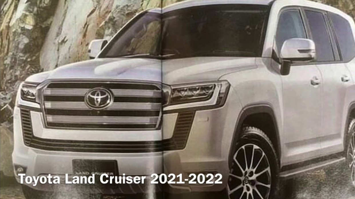 Concept Toyota New Land Cruiser 2022