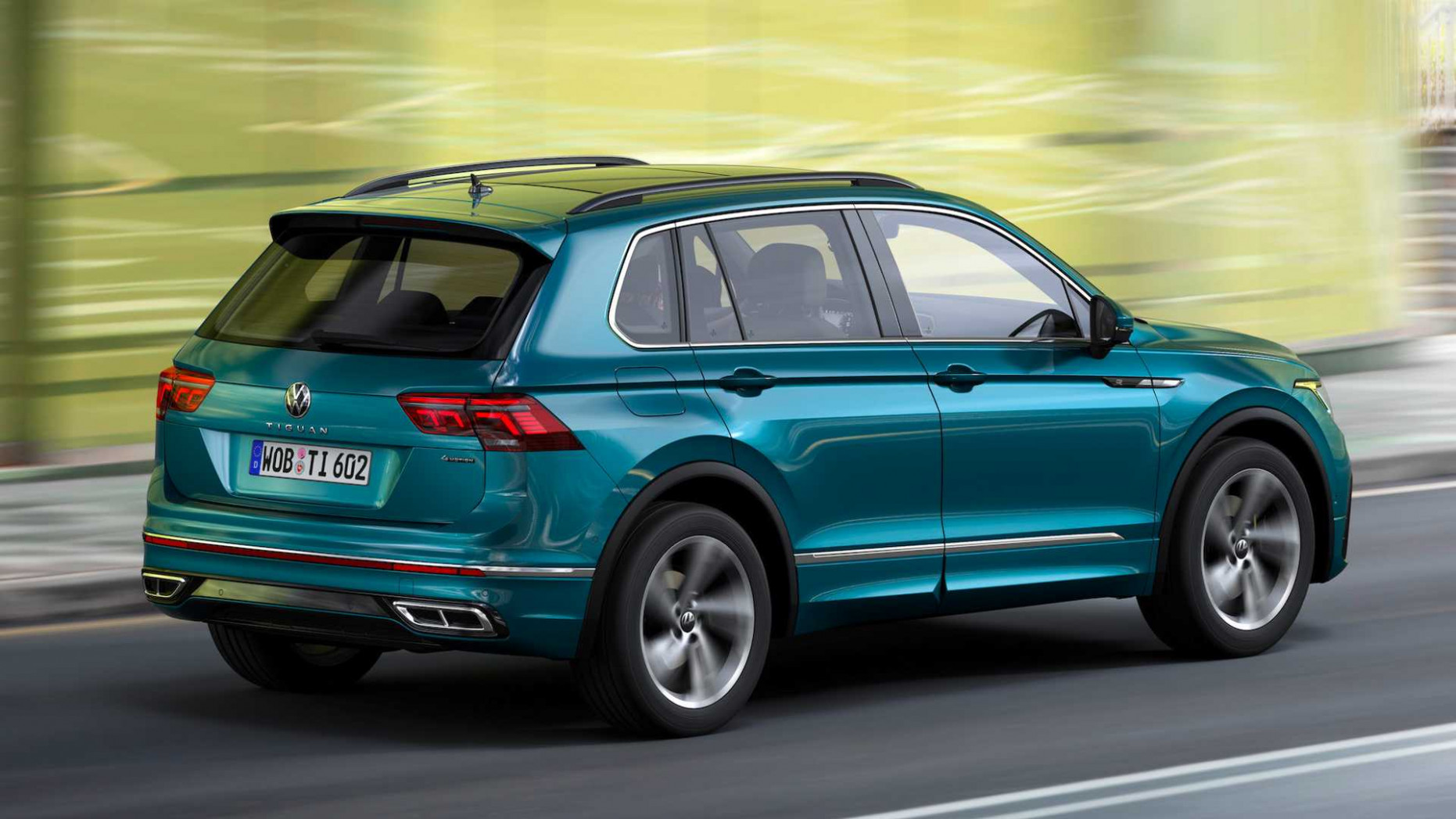 Concept and Review Volkswagen Tiguan 2022