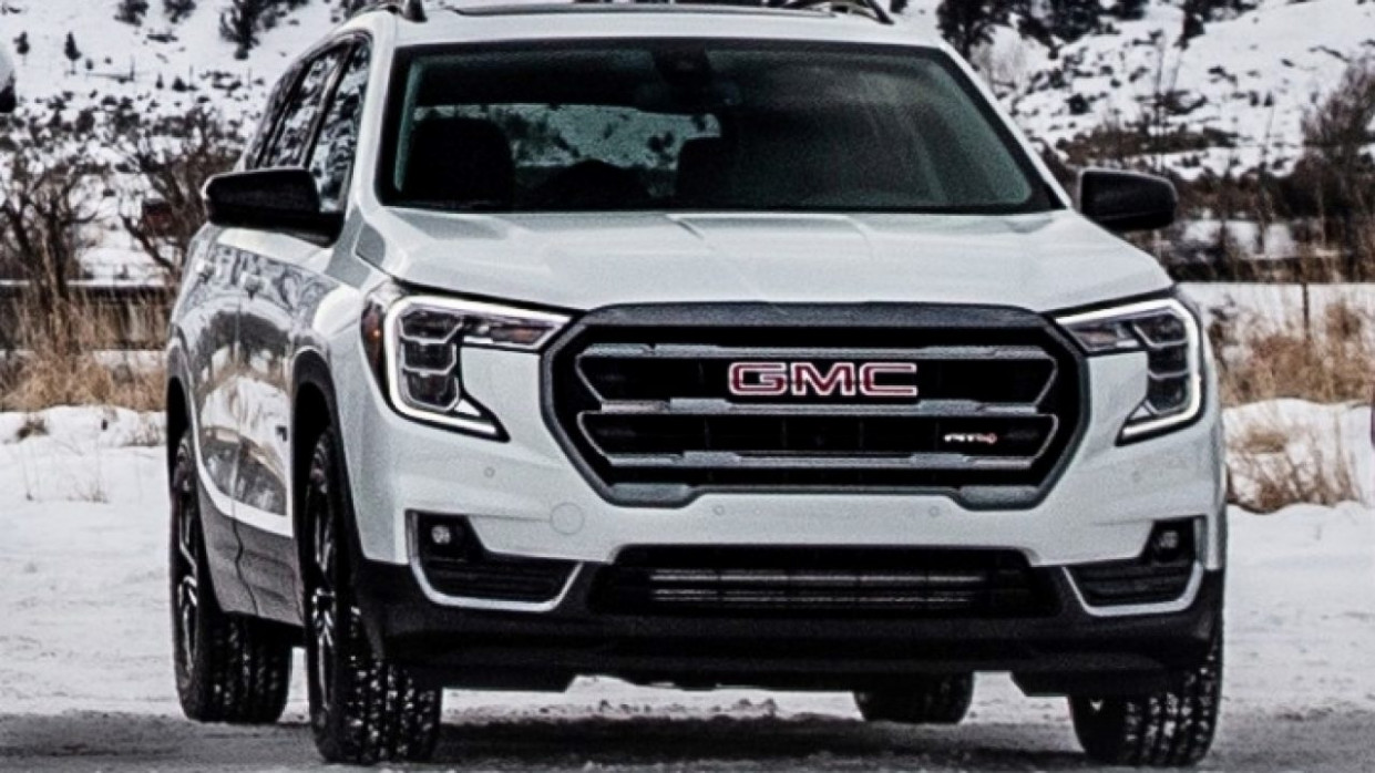 Exterior and Interior 2022 Gmc Acadia Changes