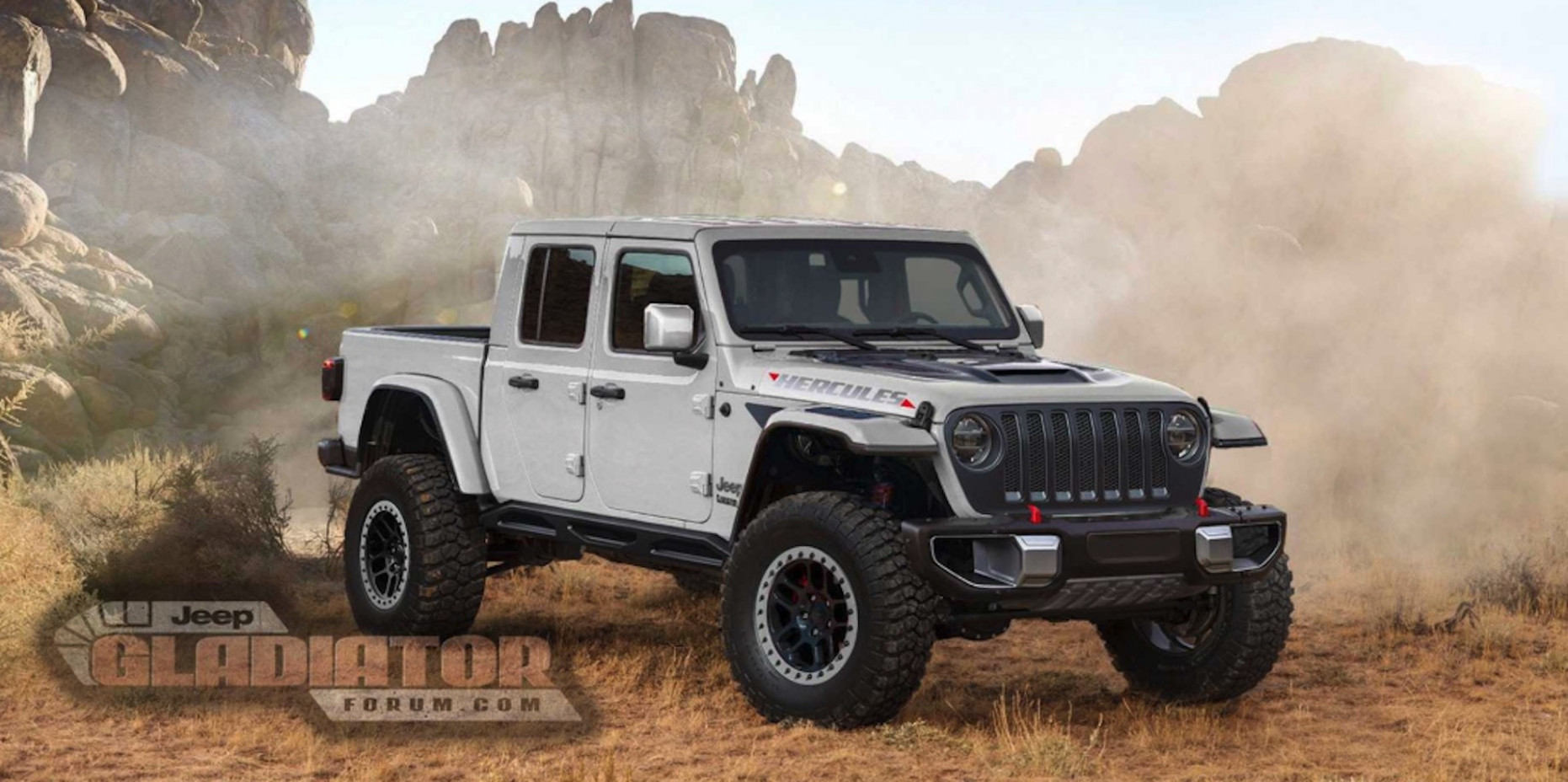 Pictures 2022 Jeep Gladiator Overall Length