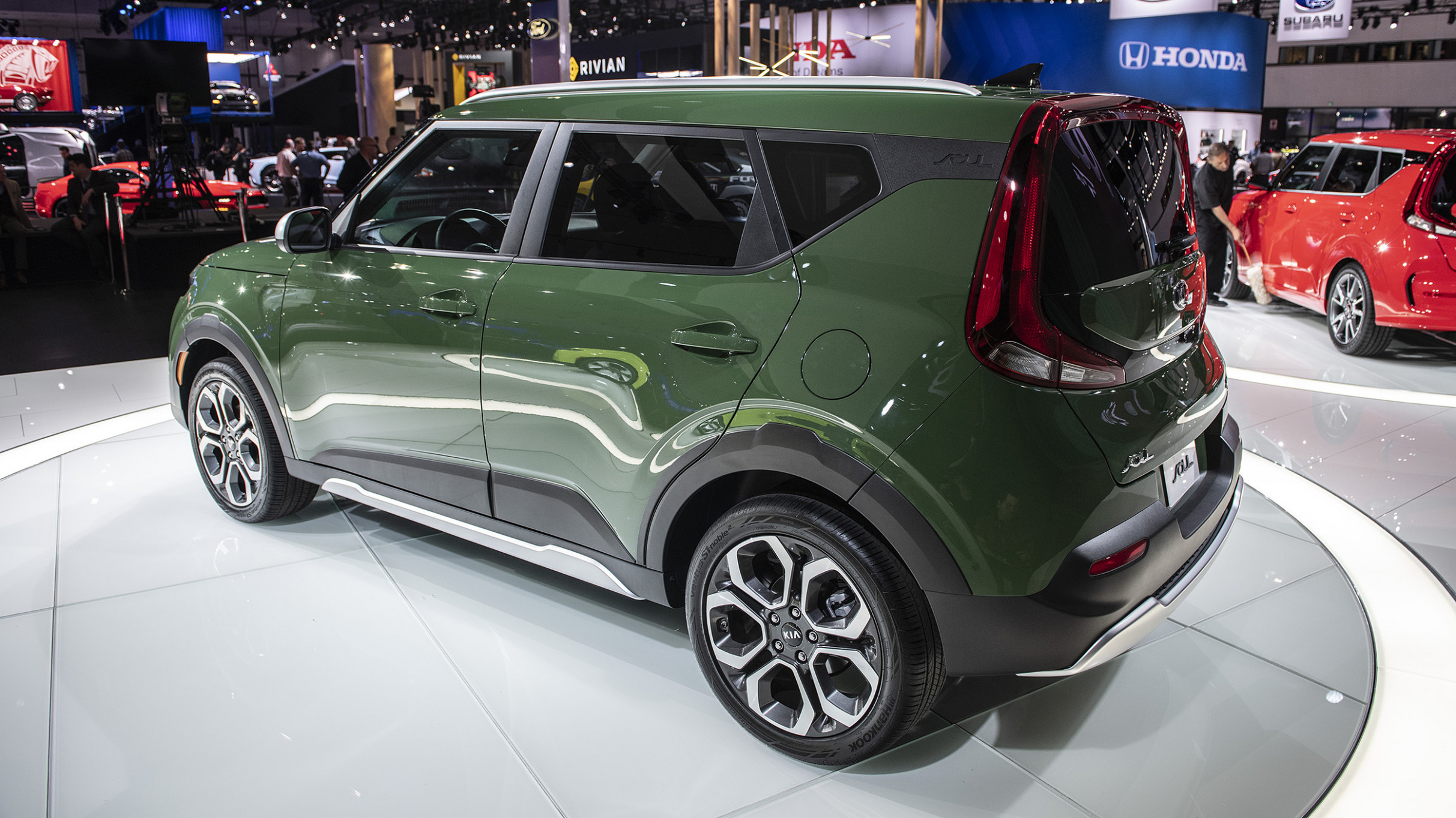 Release Date and Concept 2022 Kia Soul Undercover Green