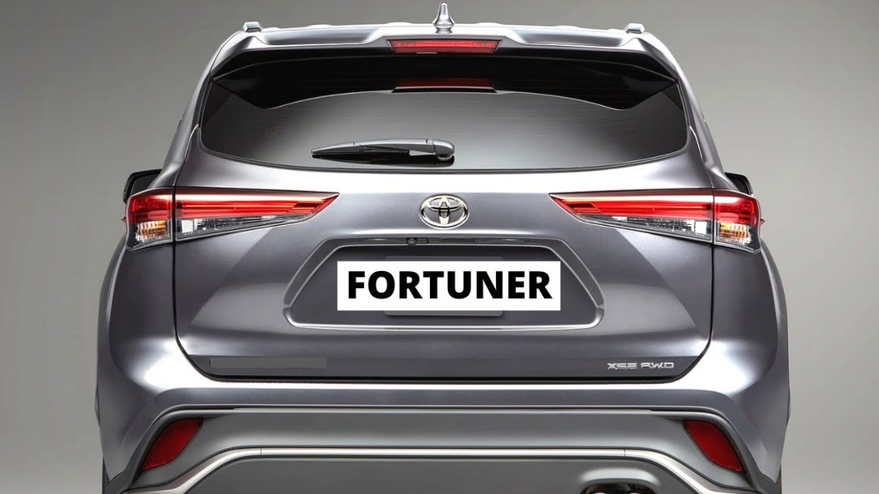 Images Toyota New Fortuner 2022