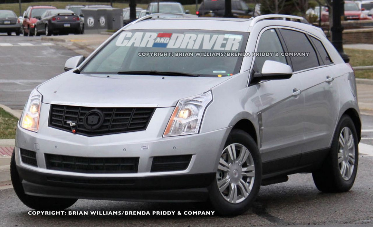 Review and Release date 2022 Cadillac SRXSpy Photos
