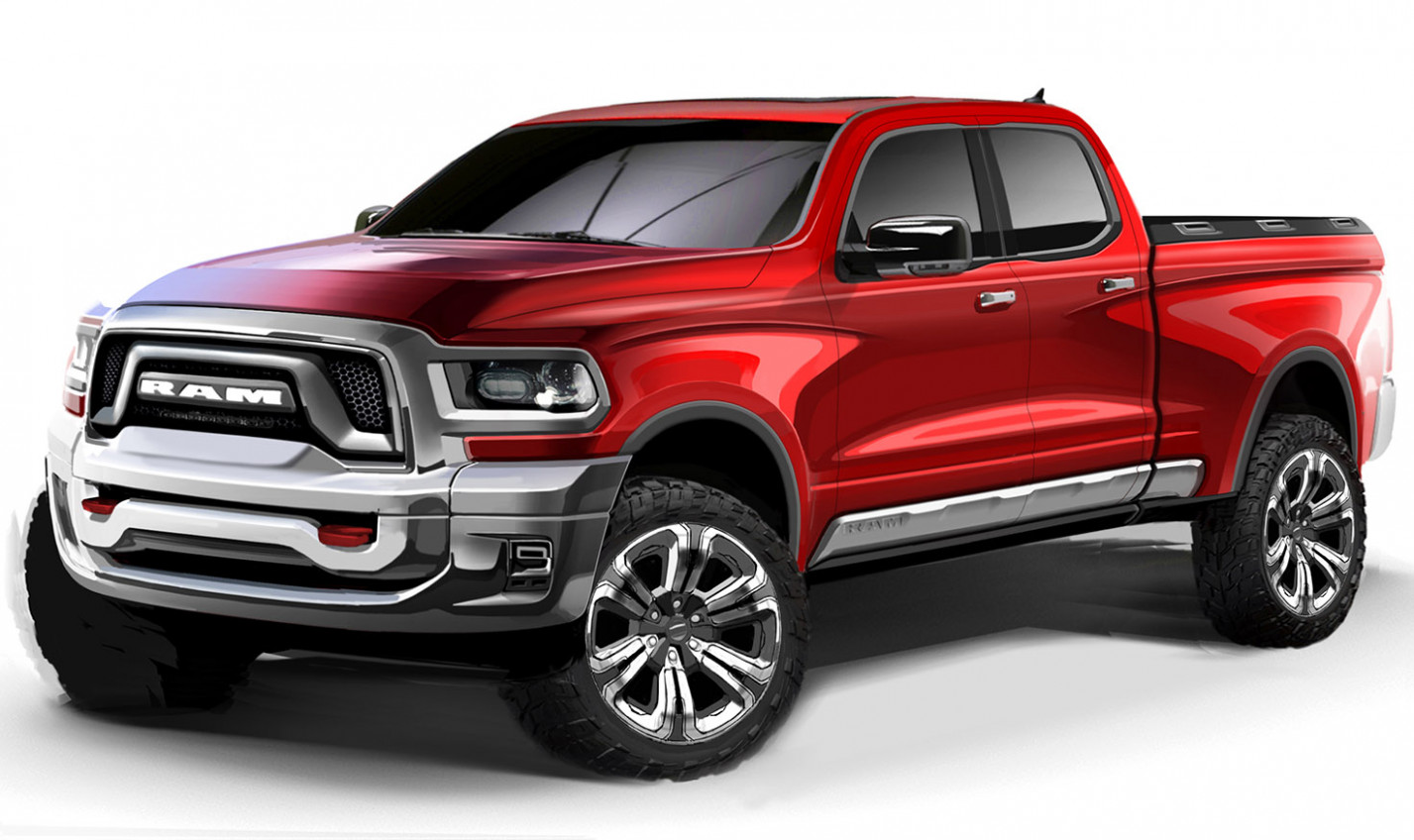 Redesign and Concept 2022 RAM 1500