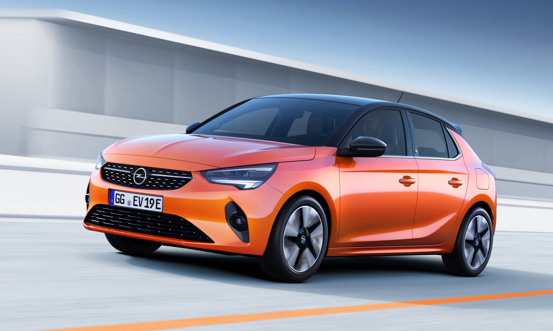 Redesign and Review Opel Corsa F 2022