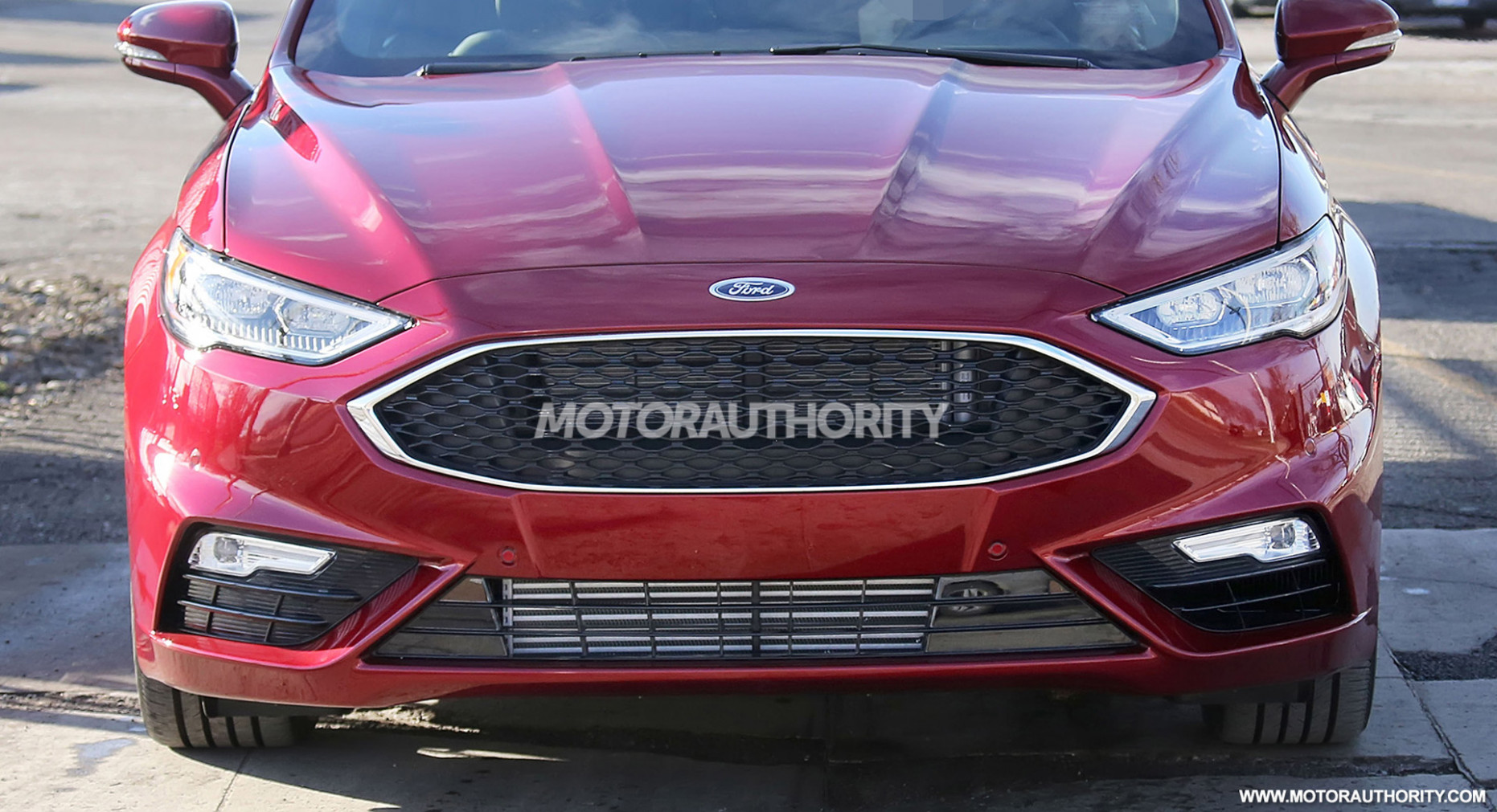 Ratings Spy Shots Ford Fusion
