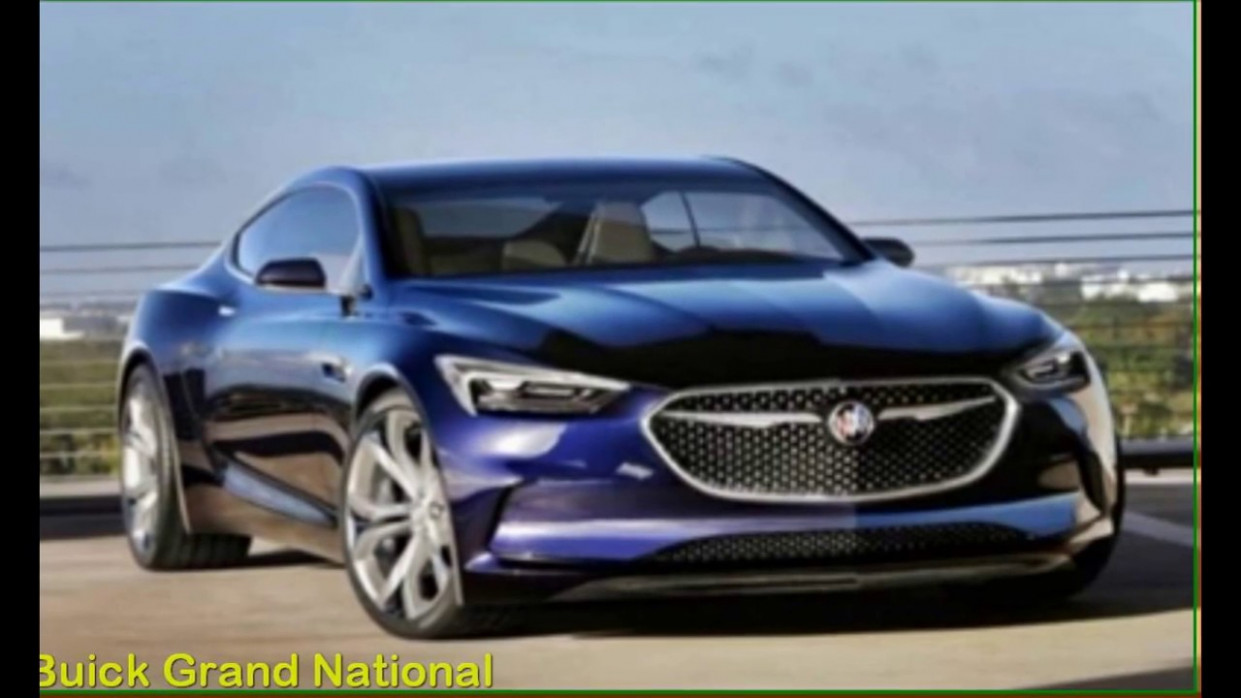 Price and Release date 2022 Buick Grand Nationals