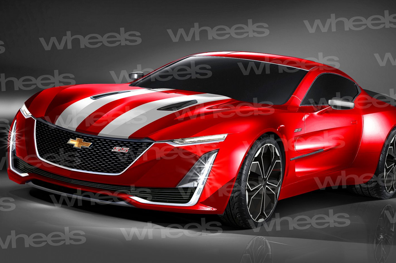 Exterior and Interior 2022 Camaro Ss