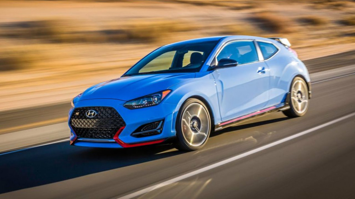 Speed Test 2022 Hyundai Veloster