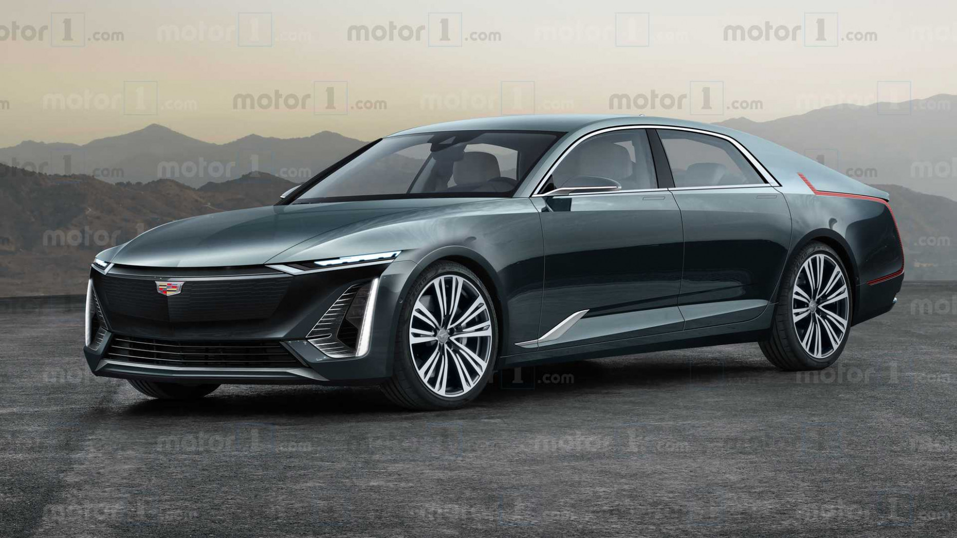 New Concept Cadillac Electric Car 2022