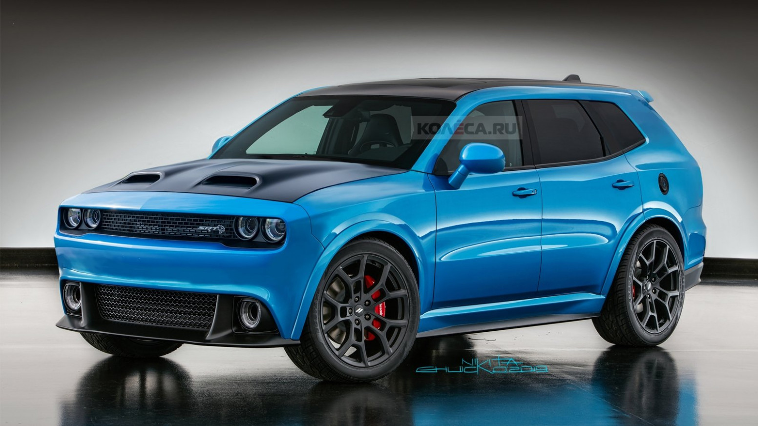 Redesign and Concept Dodge Srt 2022