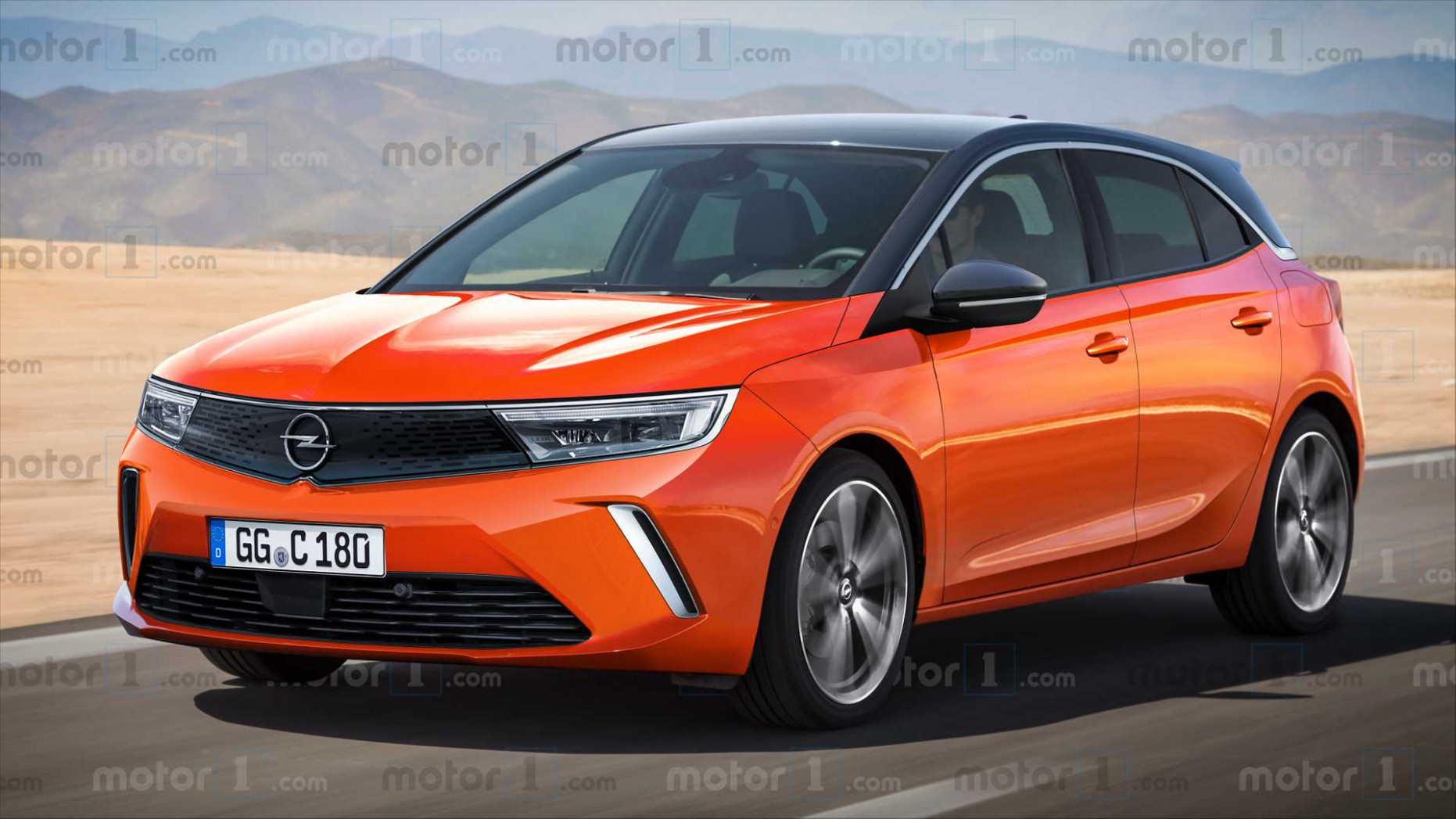 Concept 2022 New Opel Astra