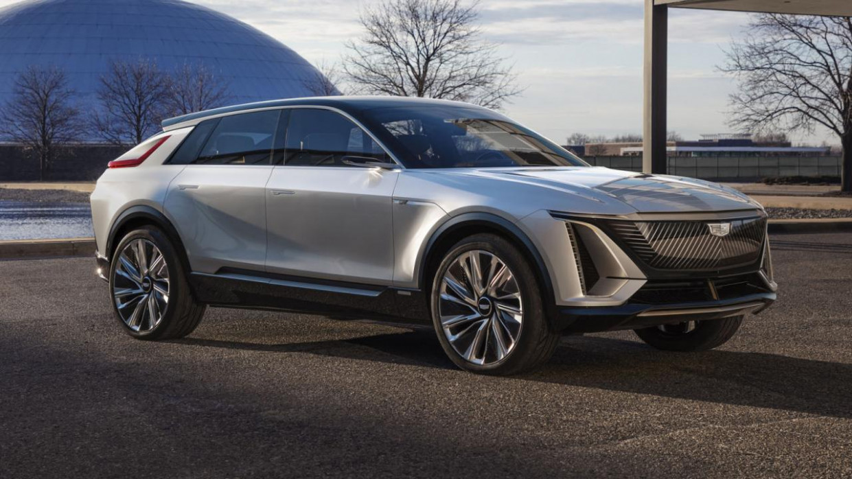 First Drive Cadillac Electric Car 2022