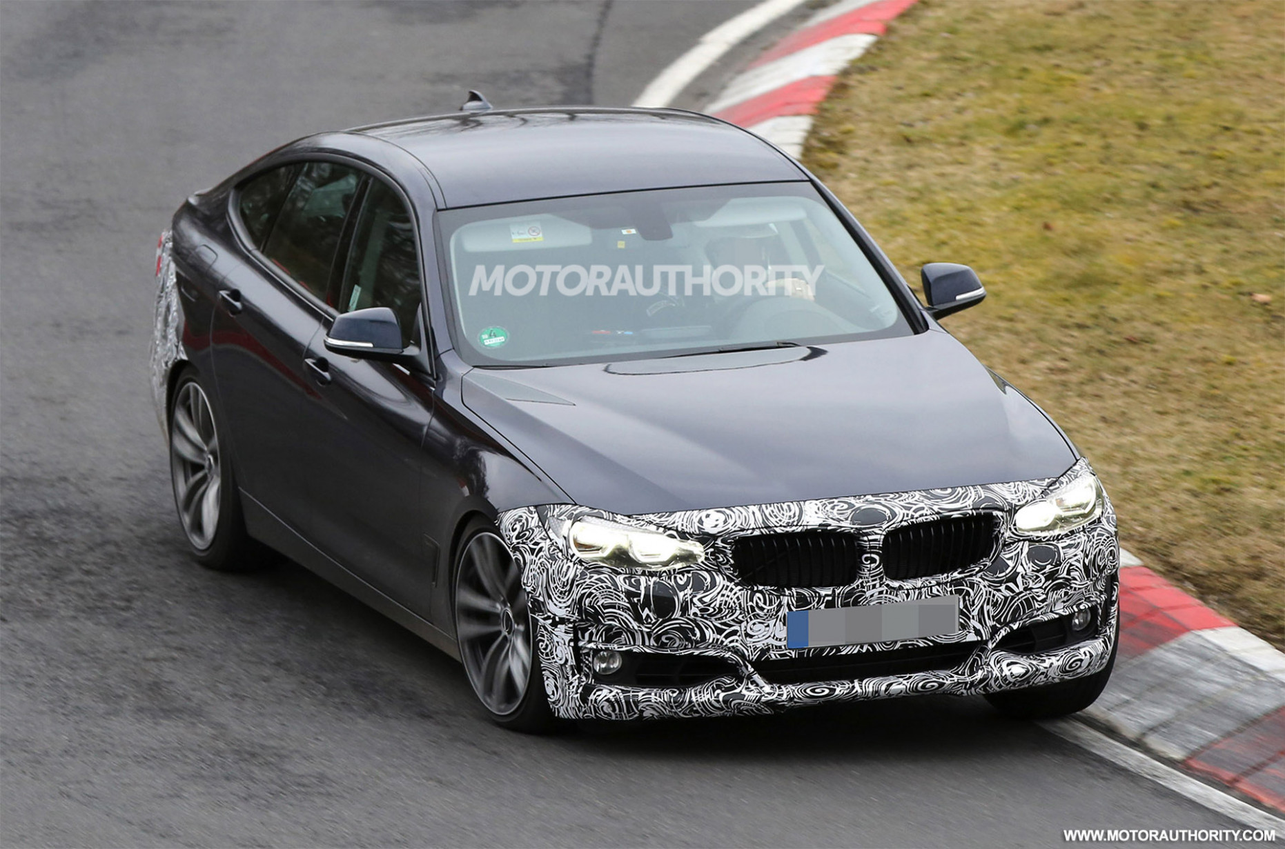 Model Spy Shots BMW 3 Series