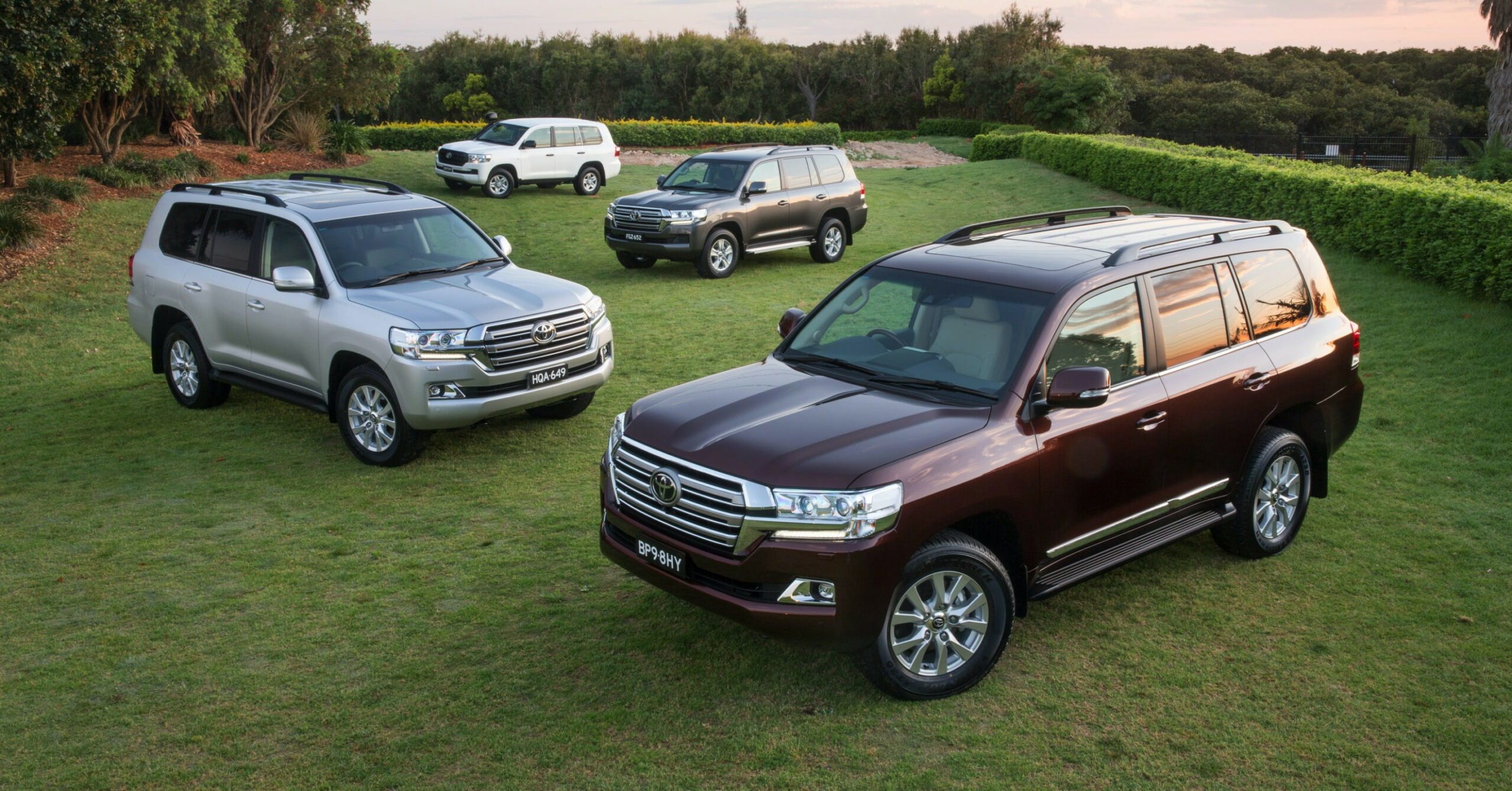 History Toyota New Land Cruiser 2022