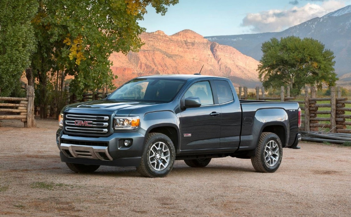 Performance and New Engine 2022 GMC Canyon