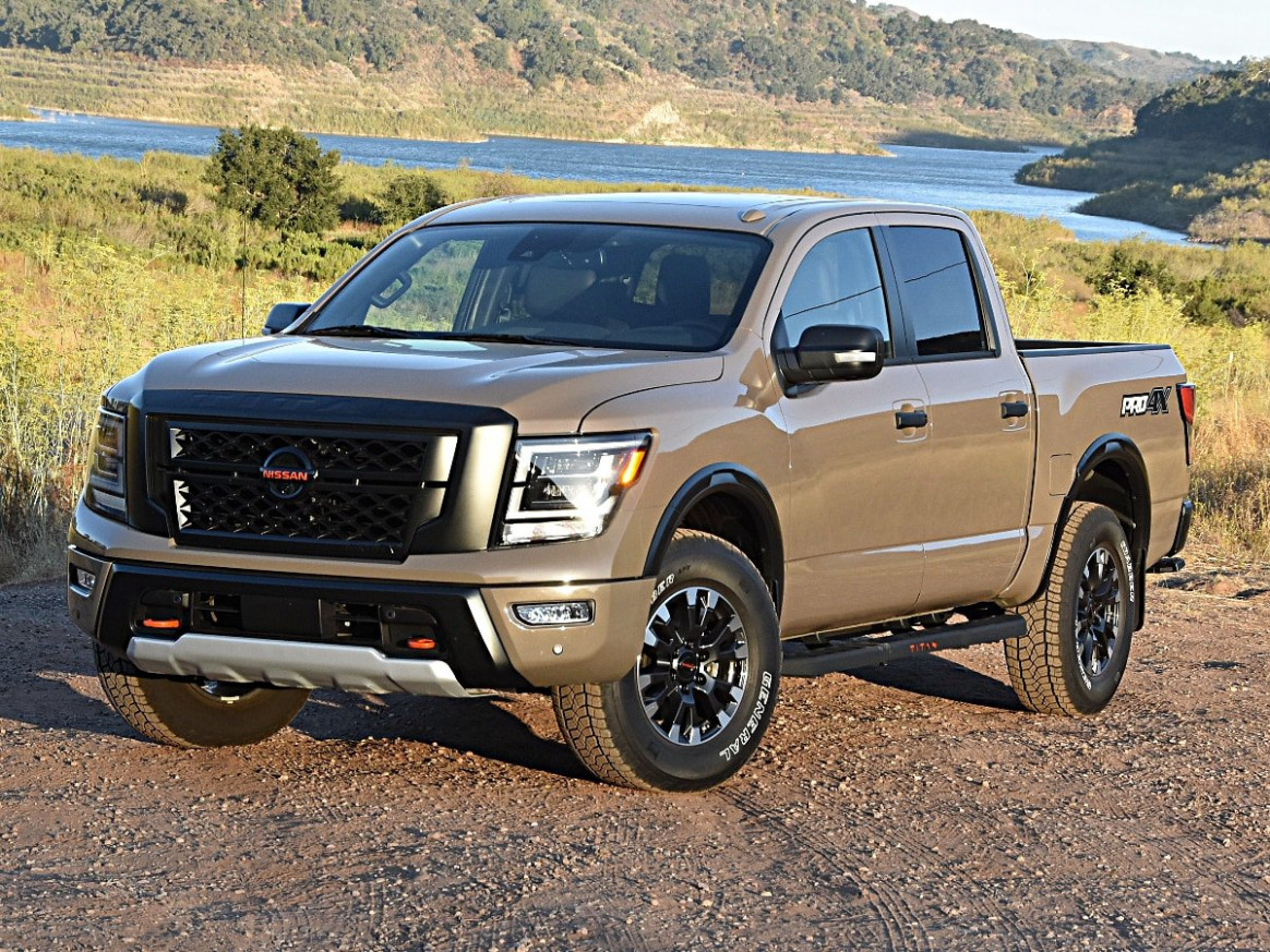 Model 2022 Nissan Titan Updates